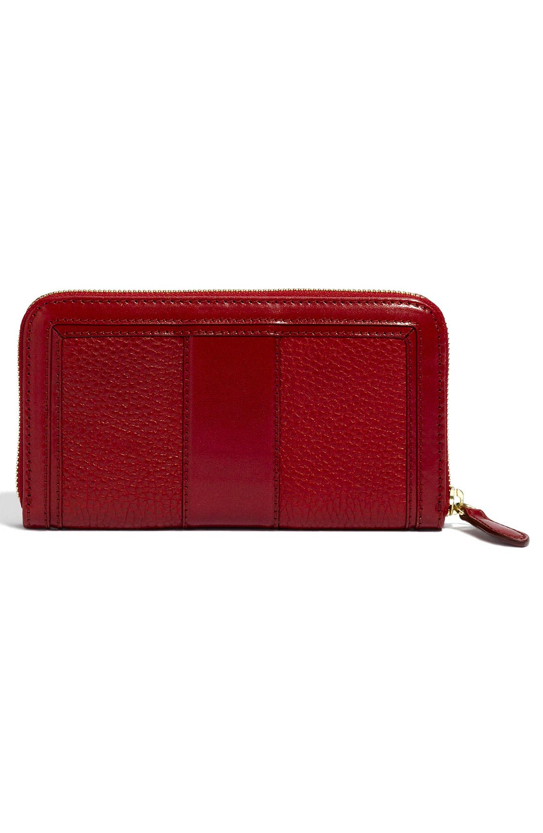 Alternate Image 4  - Burberry Zip Around Wallet