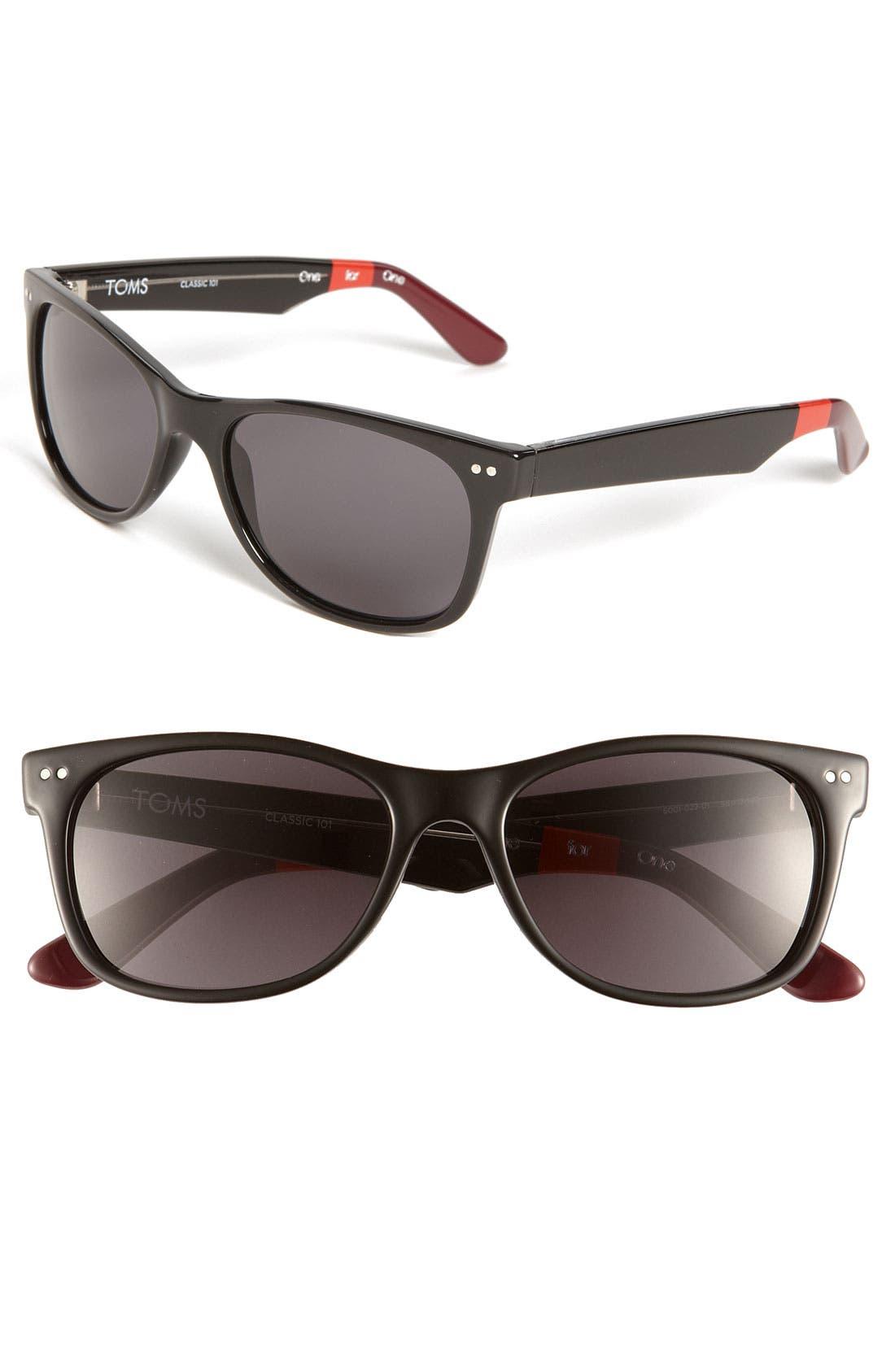 Alternate Image 1 Selected - TOMS 'Beachmaster' Sunglasses