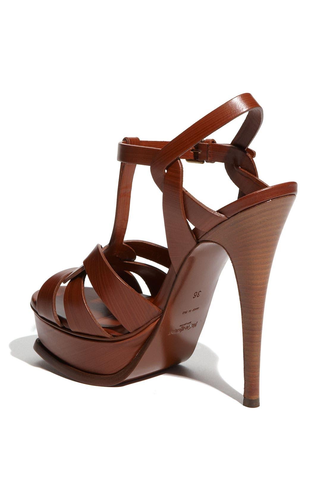 Alternate Image 2  - Yves Saint Laurent 'Tribute' Platform Sandal