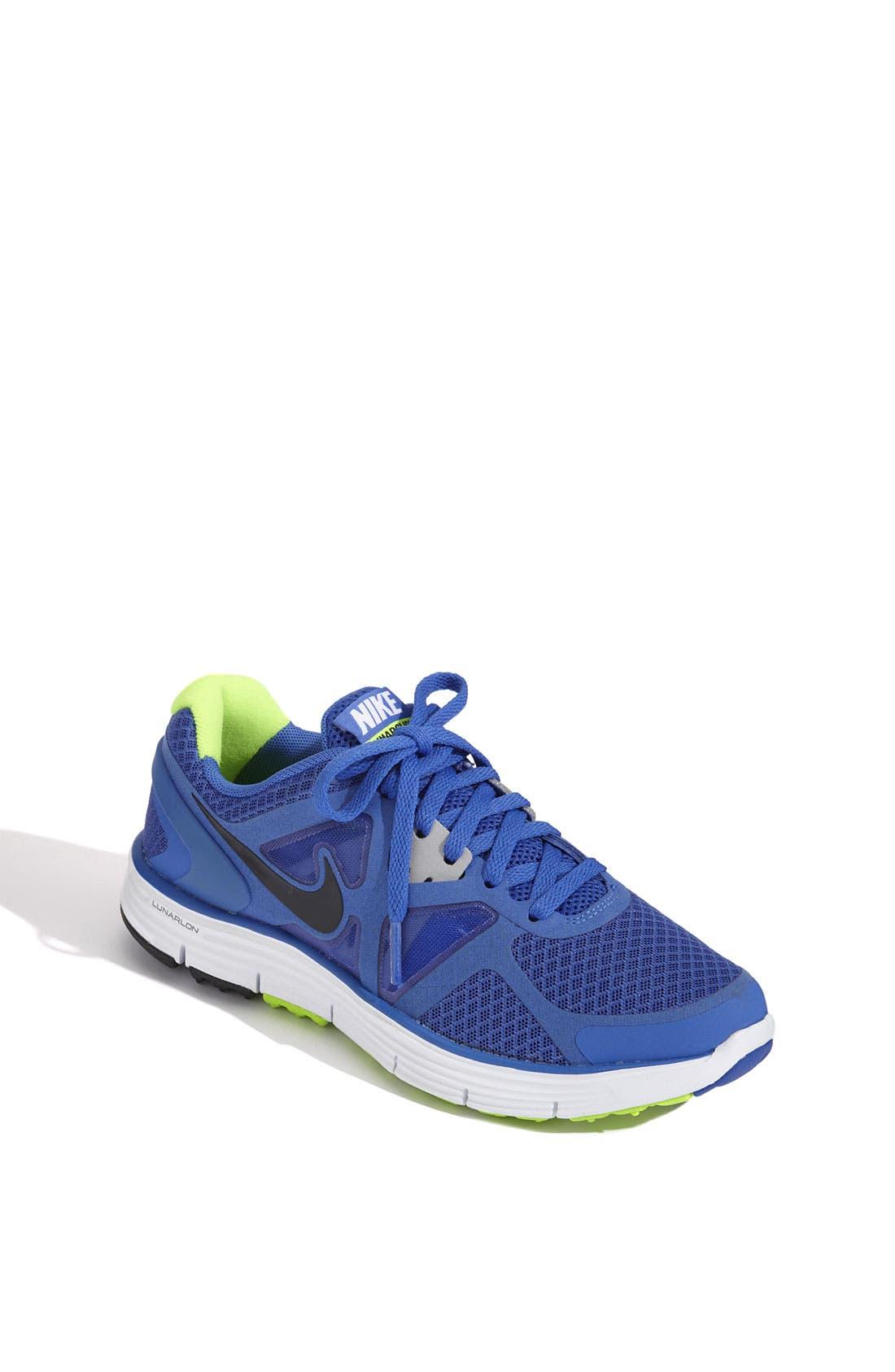 Alternate Image 1 Selected - Nike 'LunarGlide 3' Running Shoe (Toddler, Little Kid & Big Kid)