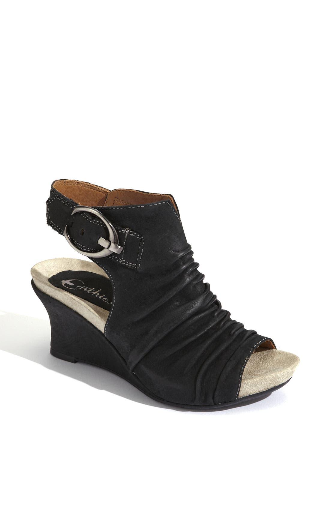 Alternate Image 1 Selected - Earthies® 'Bonaire Too' Wedge Sandal