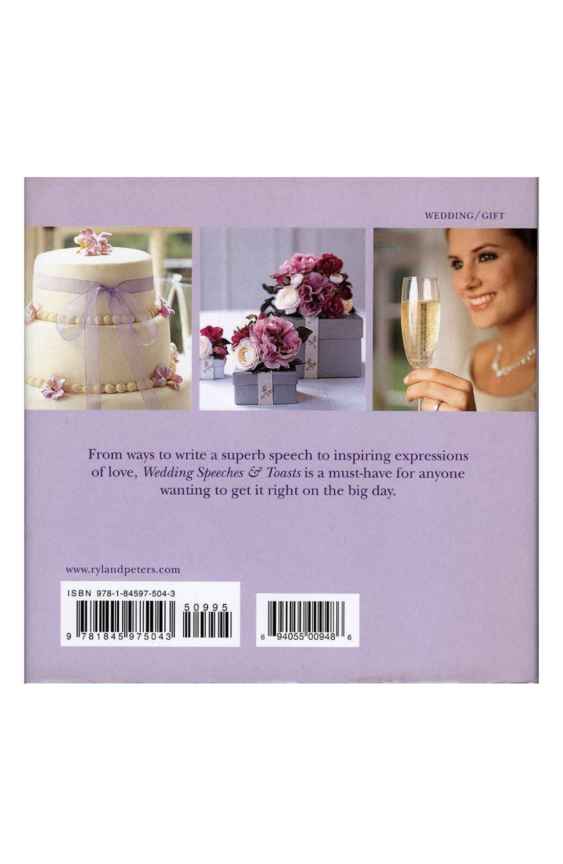 Alternate Image 2  - 'Wedding Speeches & Toasts' Book