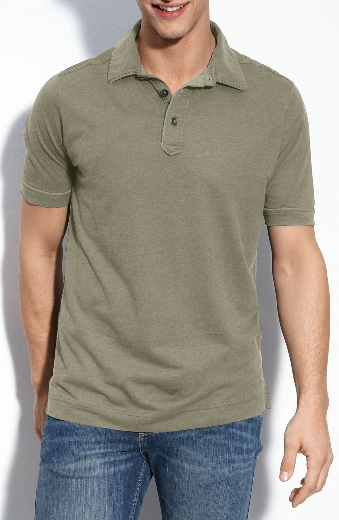 Alternate Image 1 Selected - Tommy Bahama Denim 'Fray Day' Polo