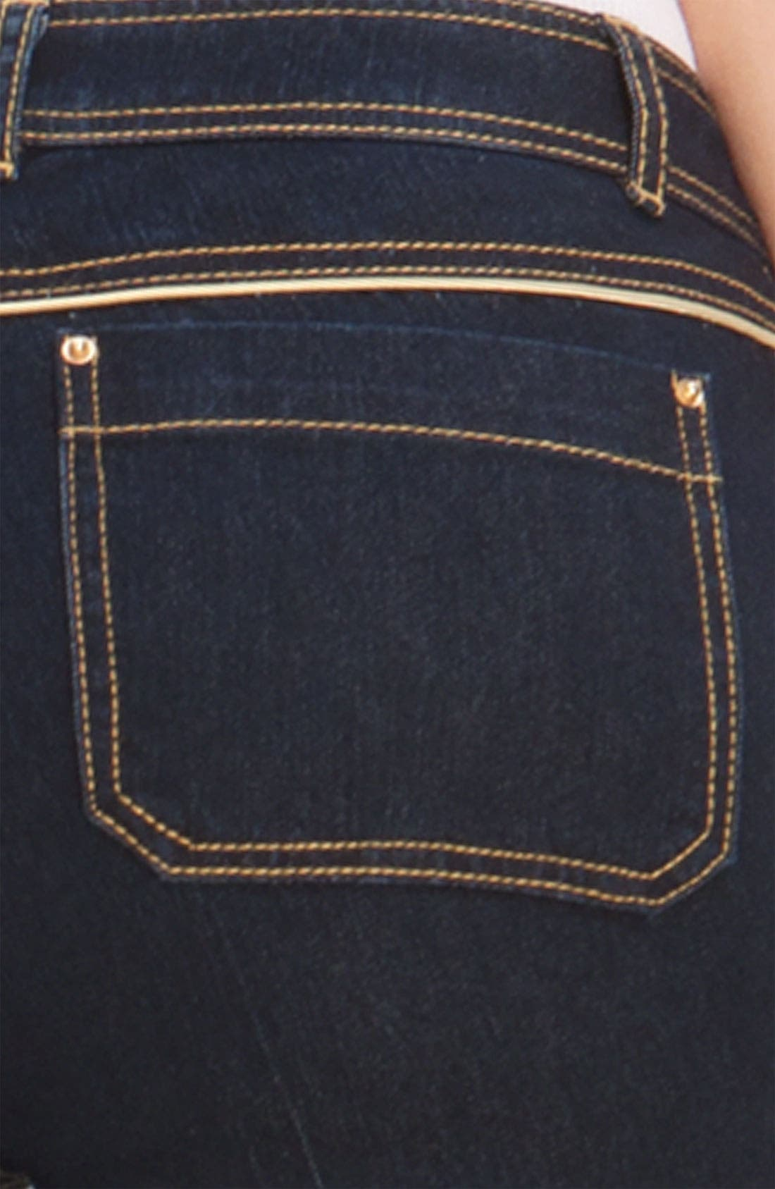 Alternate Image 3  - Rachel Zoe Piped Flare Leg Jeans (Long)