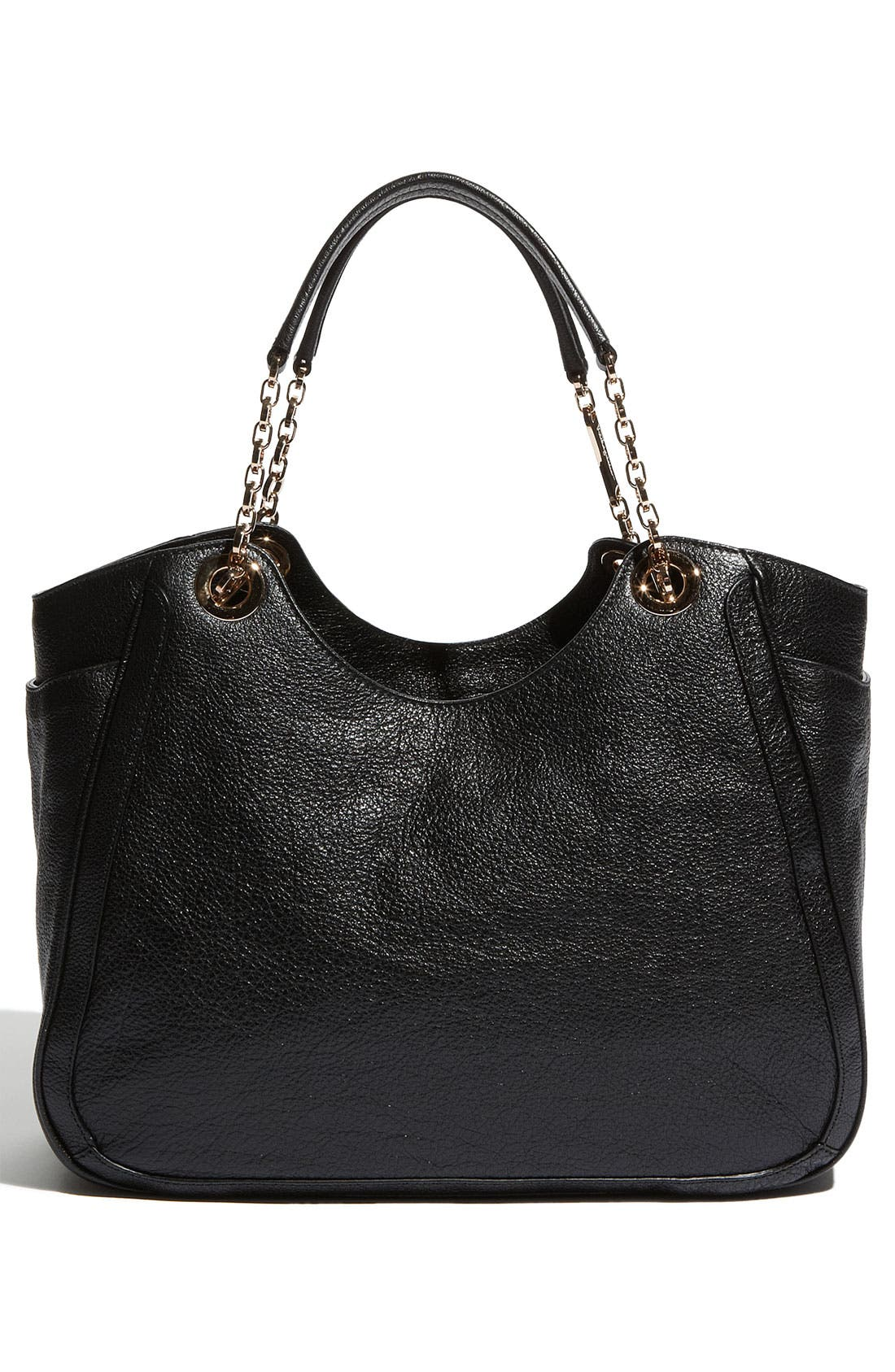 Alternate Image 4  - Salvatore Ferragamo 'Betulla Chain' Leather Shopper