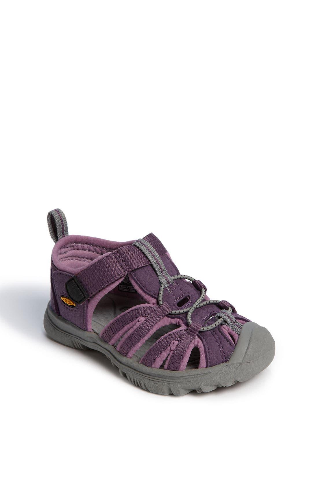 Main Image - Keen 'Whisper' Sandal (Baby & Walker)