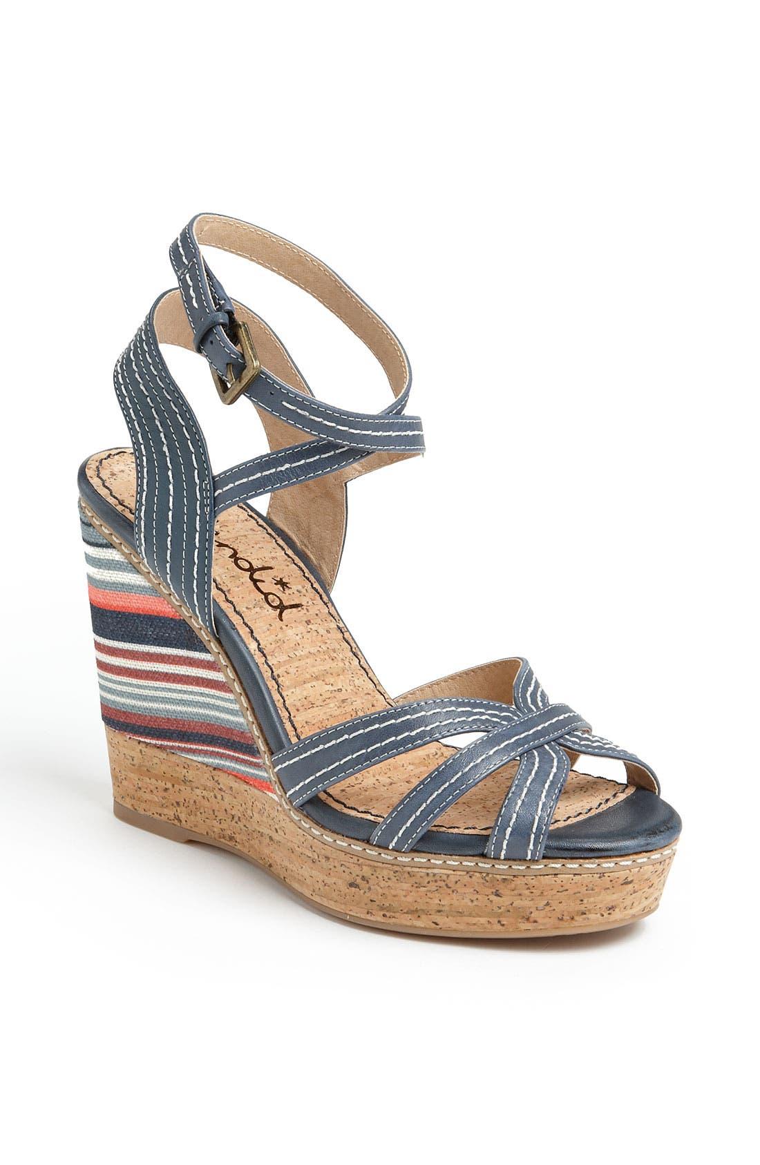 Alternate Image 1 Selected - Splendid 'Kayla' Wedge Sandal