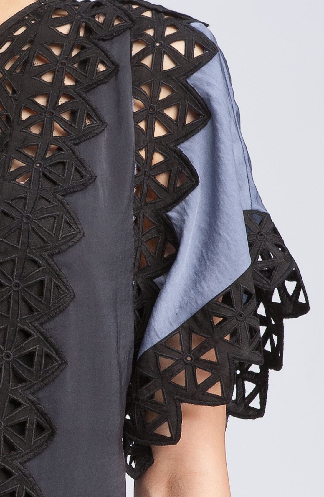 Alternate Image 3  - Rebecca Taylor Cutout Eyelet Lace Top