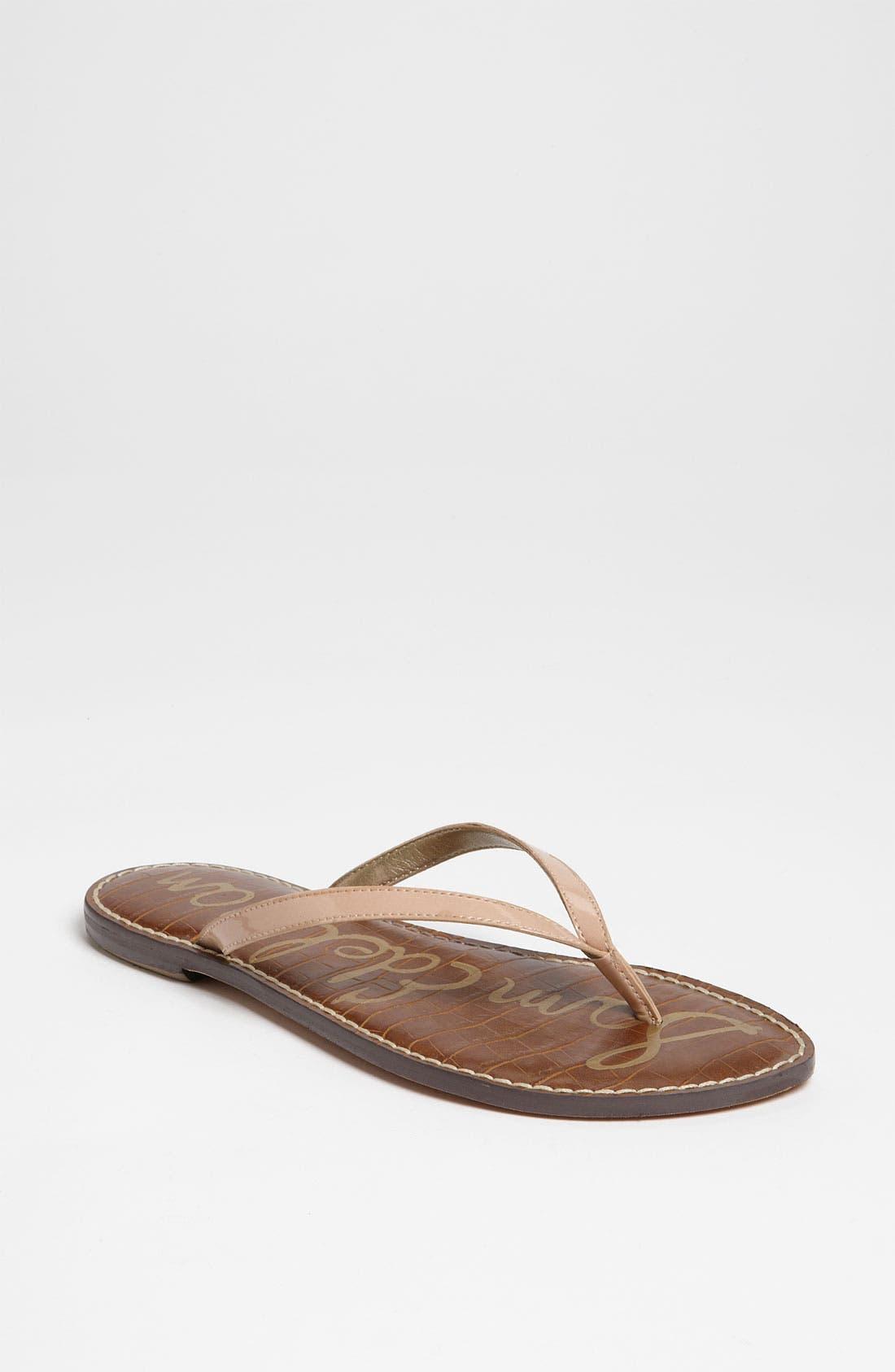 Gracie Sandal,                         Main,                         color, Blush Patent