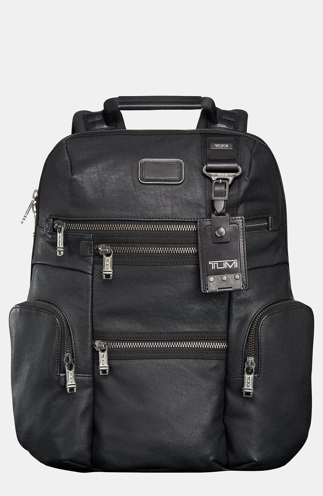 Main Image - Tumi 'Alpha Bravo - Knox' Leather Backpack