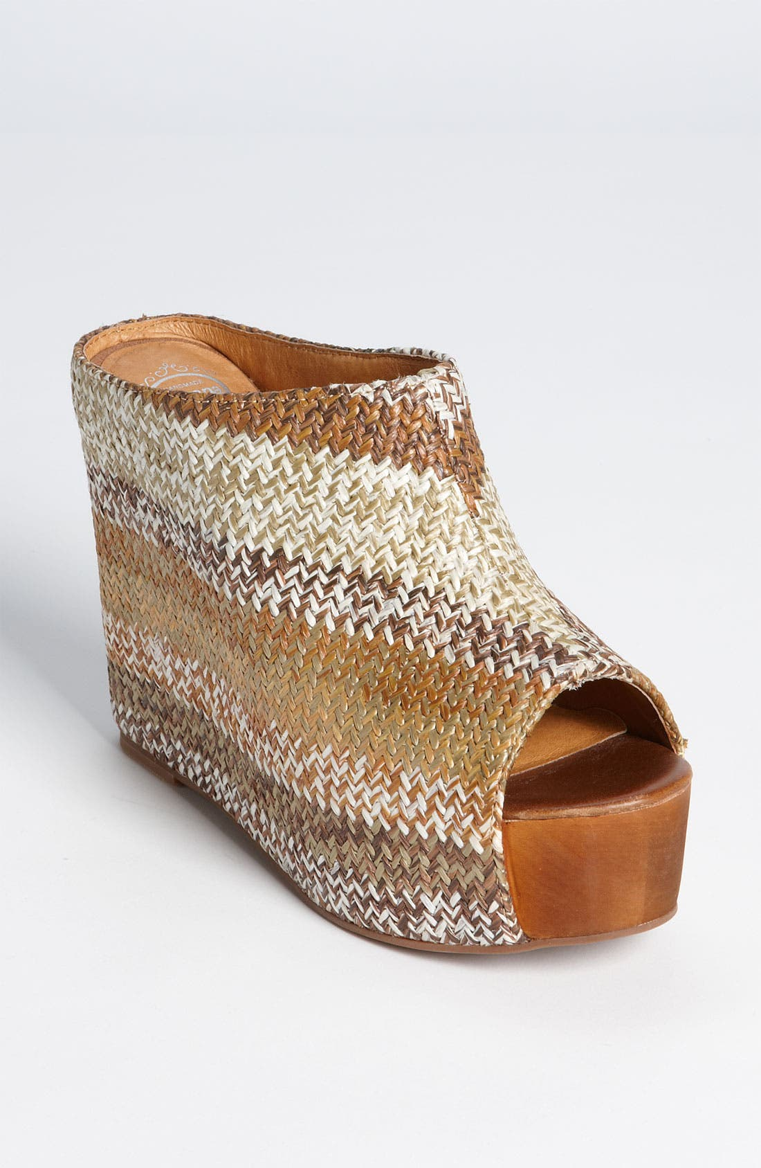 Alternate Image 1 Selected - Jeffrey Campbell 'Virgo' Wedge Platform Mule