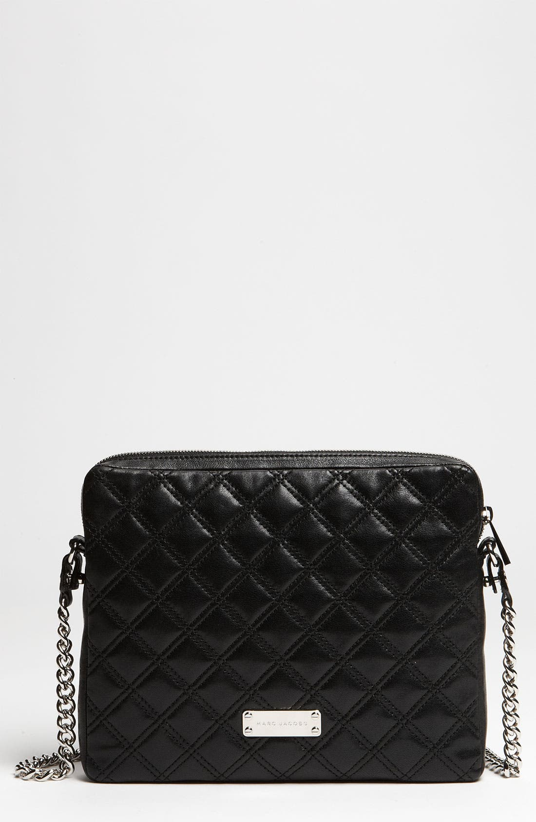 Alternate Image 1 Selected - MARC JACOBS 'Quilting' Leather iPad Case