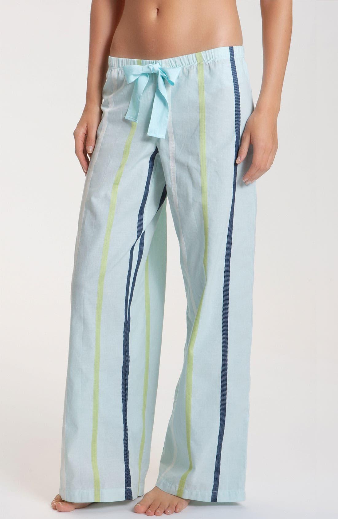 Alternate Image 1 Selected - Hue 'Dobby Stripe' Lounge Pants