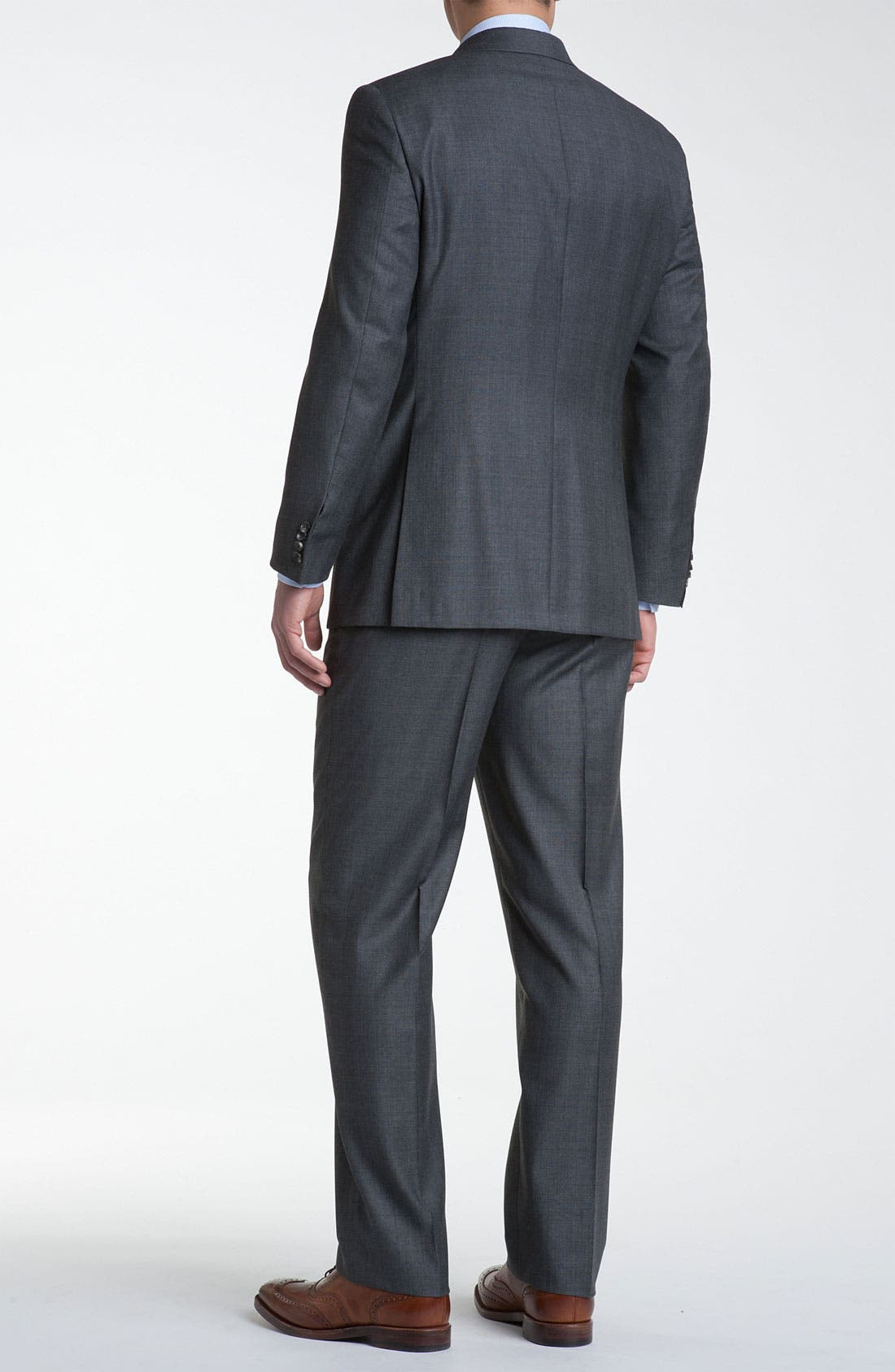 Alternate Image 2  - Hickey Freeman 'GlenPlaid' Wool Suit