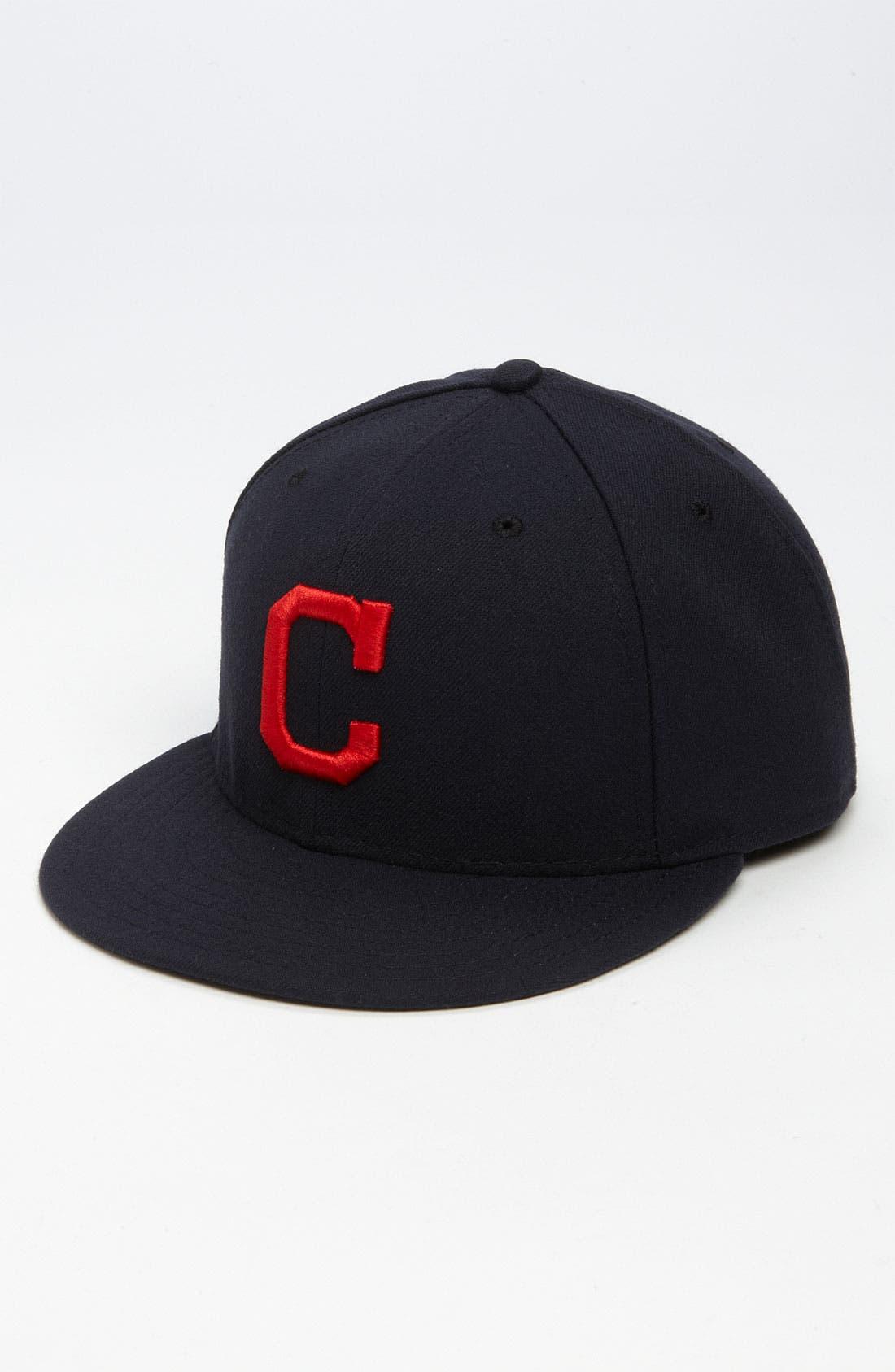 Alternate Image 1 Selected - New Era Cap 'Cleveland Indians' Baseball Cap