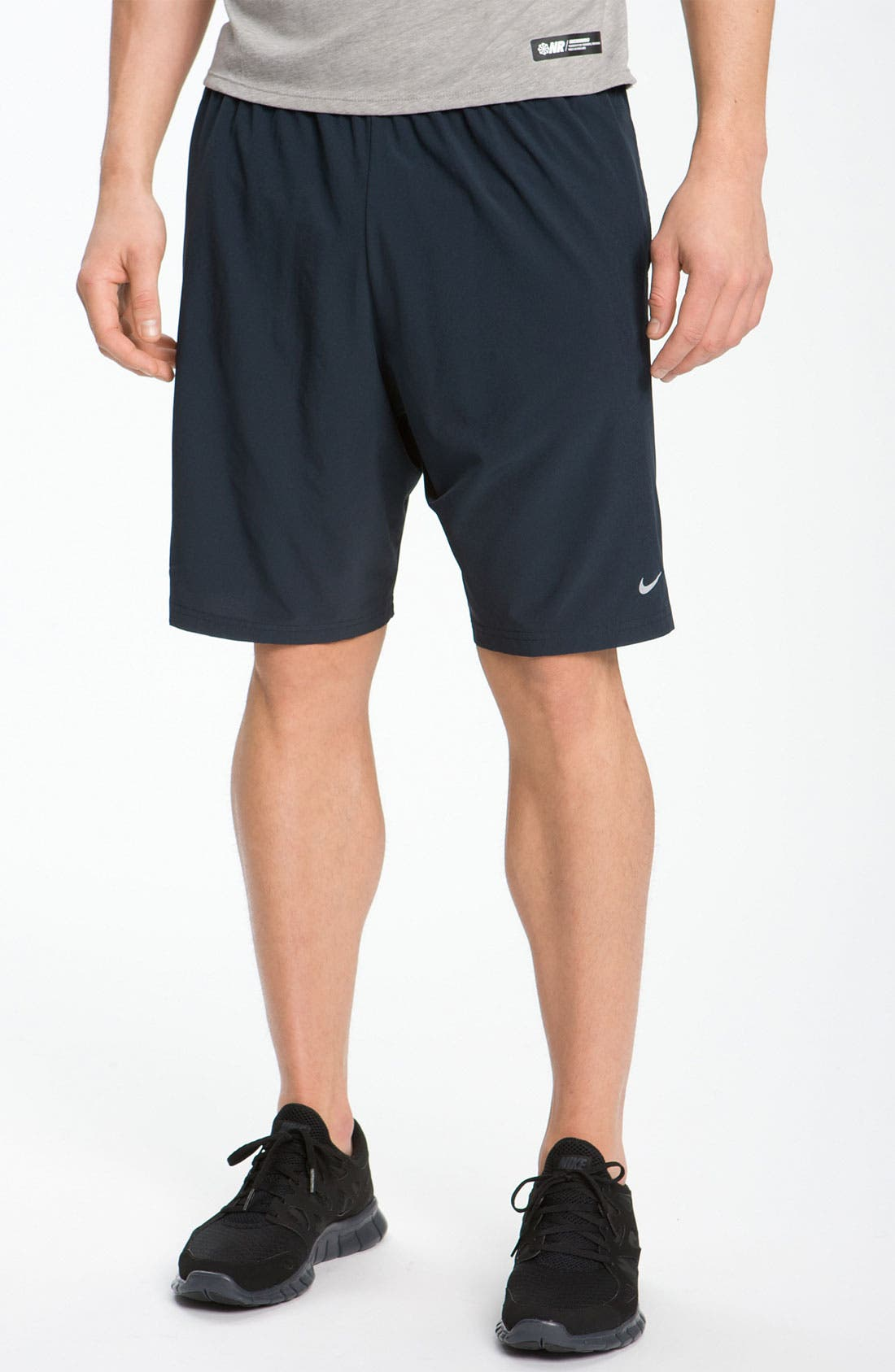 Alternate Image 1 Selected - Nike Dri-FIT Woven Running Shorts (Online Only)