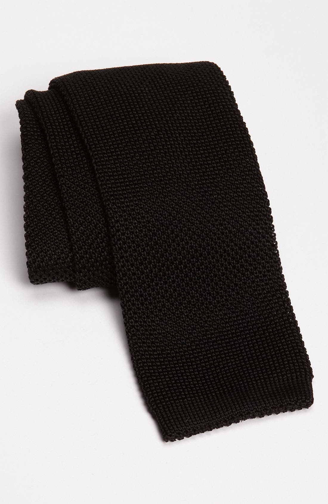 Alternate Image 1 Selected - Samuelsohn Solid Knit Tie