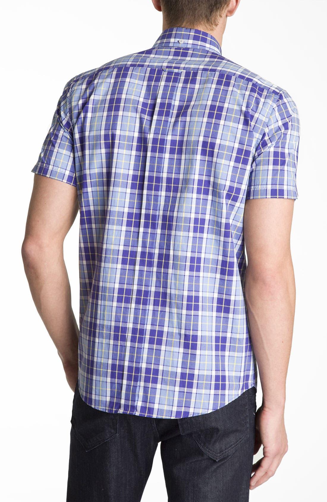 Alternate Image 2  - Ben Sherman 'Covent' Plaid Woven Shirt