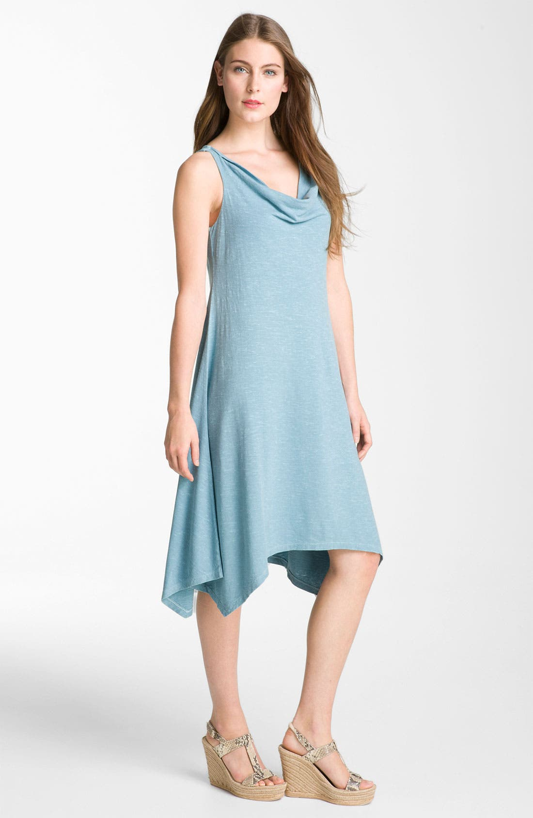 Alternate Image 1 Selected - Eileen Fisher Cowl Neck Dress