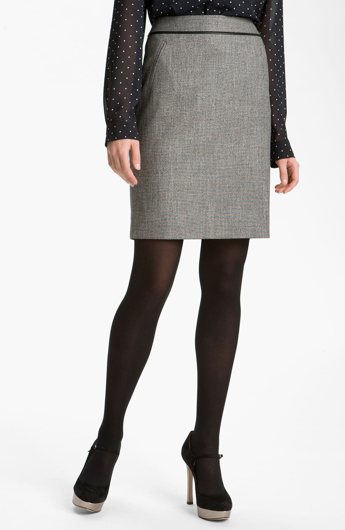 Alternate Image 1 Selected - Halogen® Two Tone Pencil Skirt