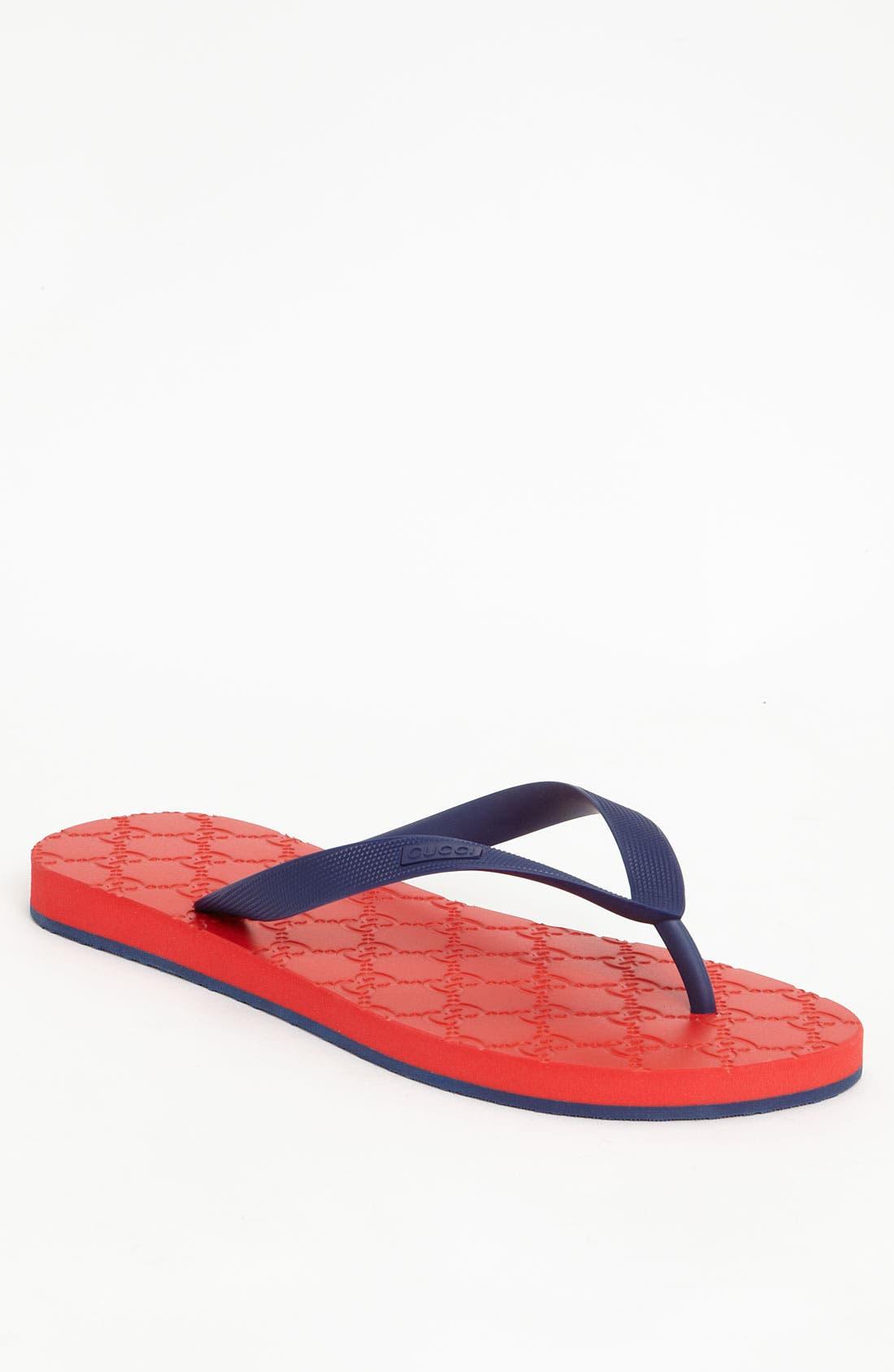 Alternate Image 1 Selected - Gucci 'Bedlam' Flip Flop
