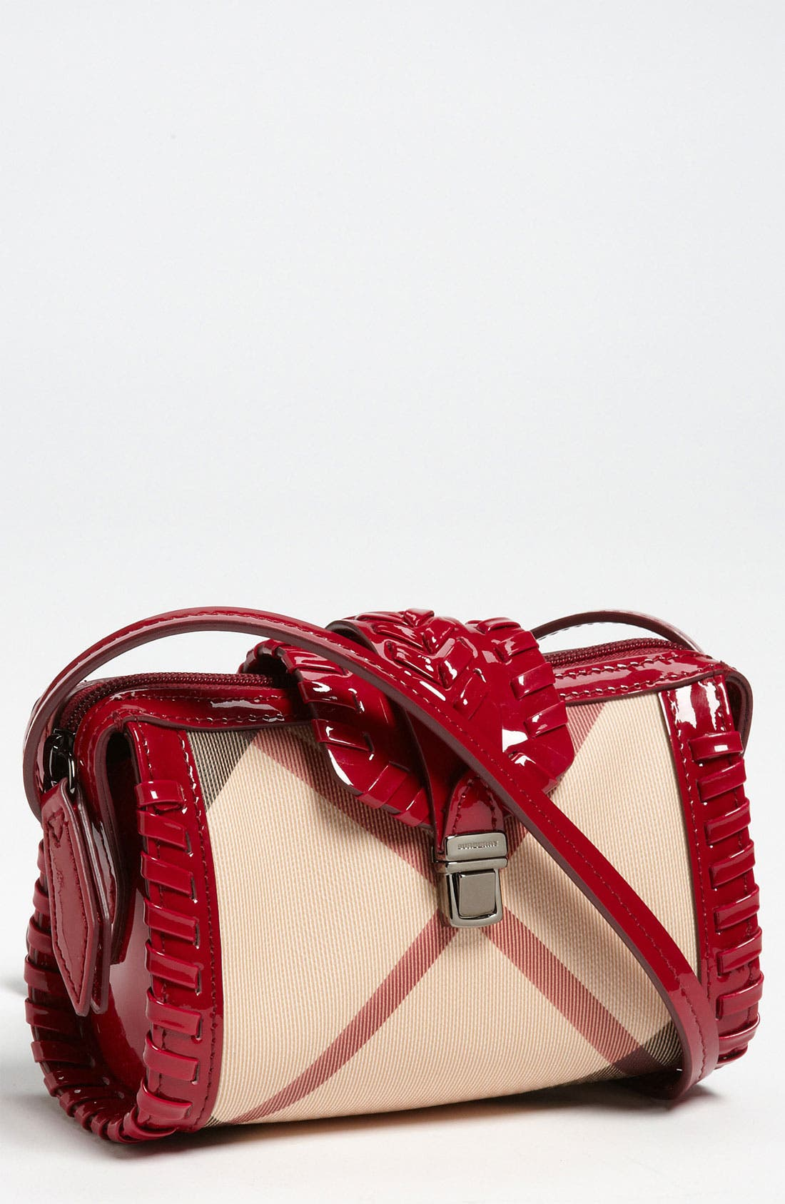Main Image - Burberry Crossbody Bag (Girls)