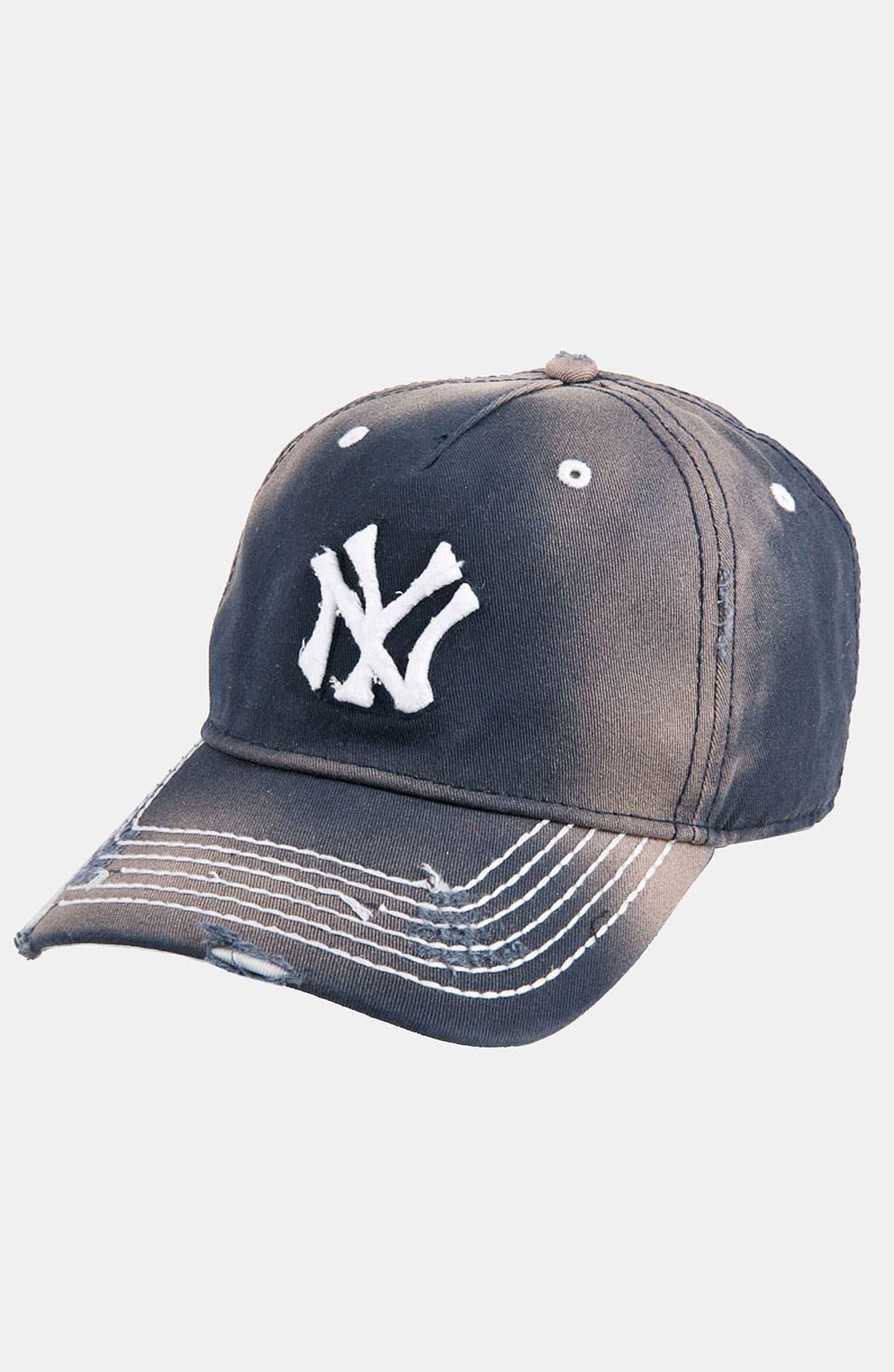 Alternate Image 1 Selected - American Needle 'New York Yankees' Distressed Cap