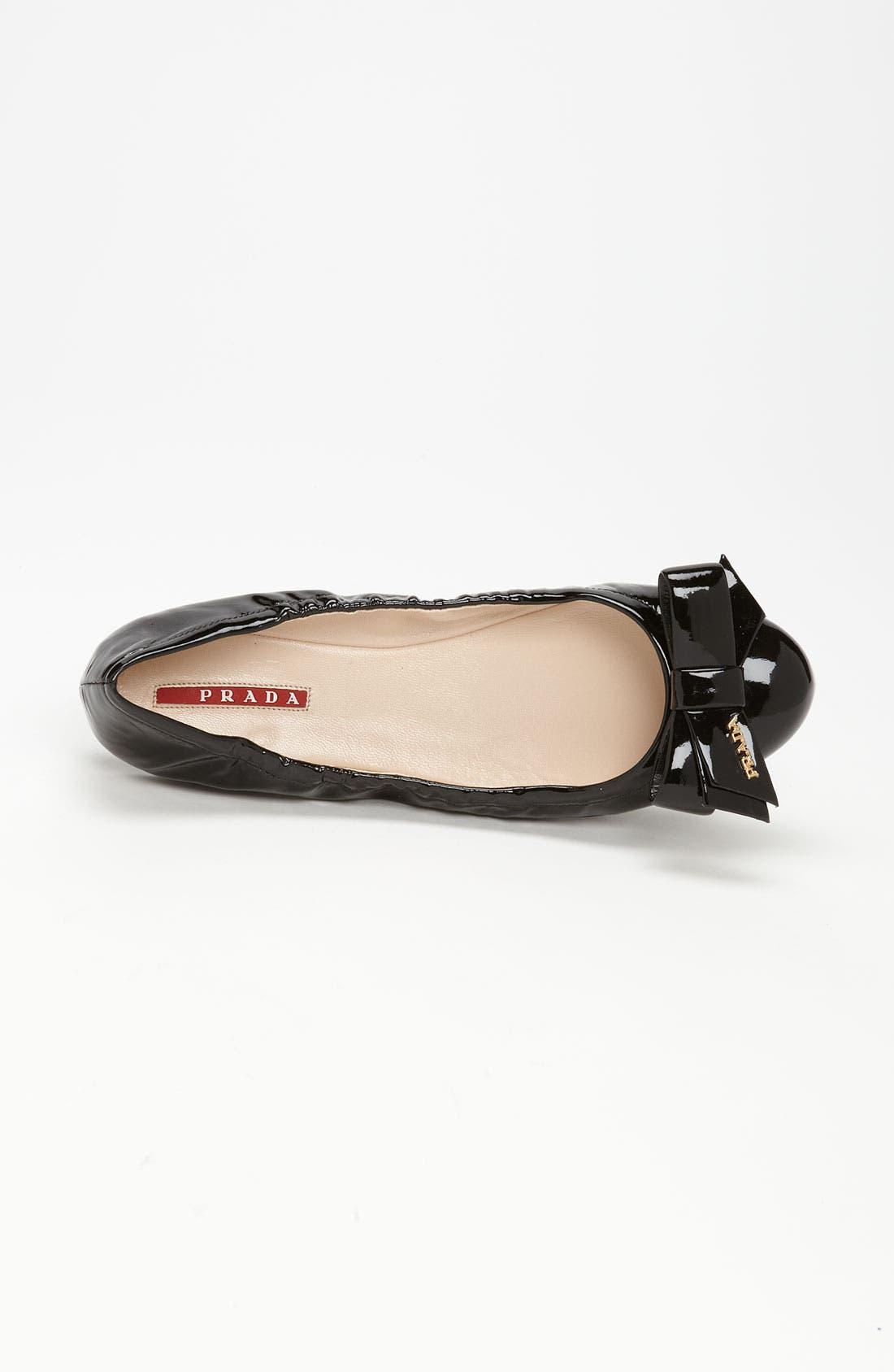 Alternate Image 3  - Prada Bow Ballet Flat