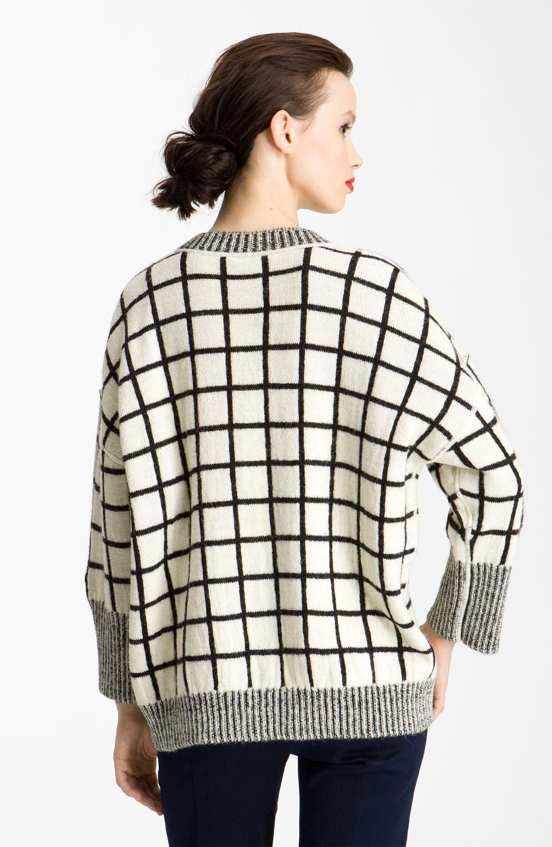 Alternate Image 2  - KENZO Windowpane Pullover Sweater