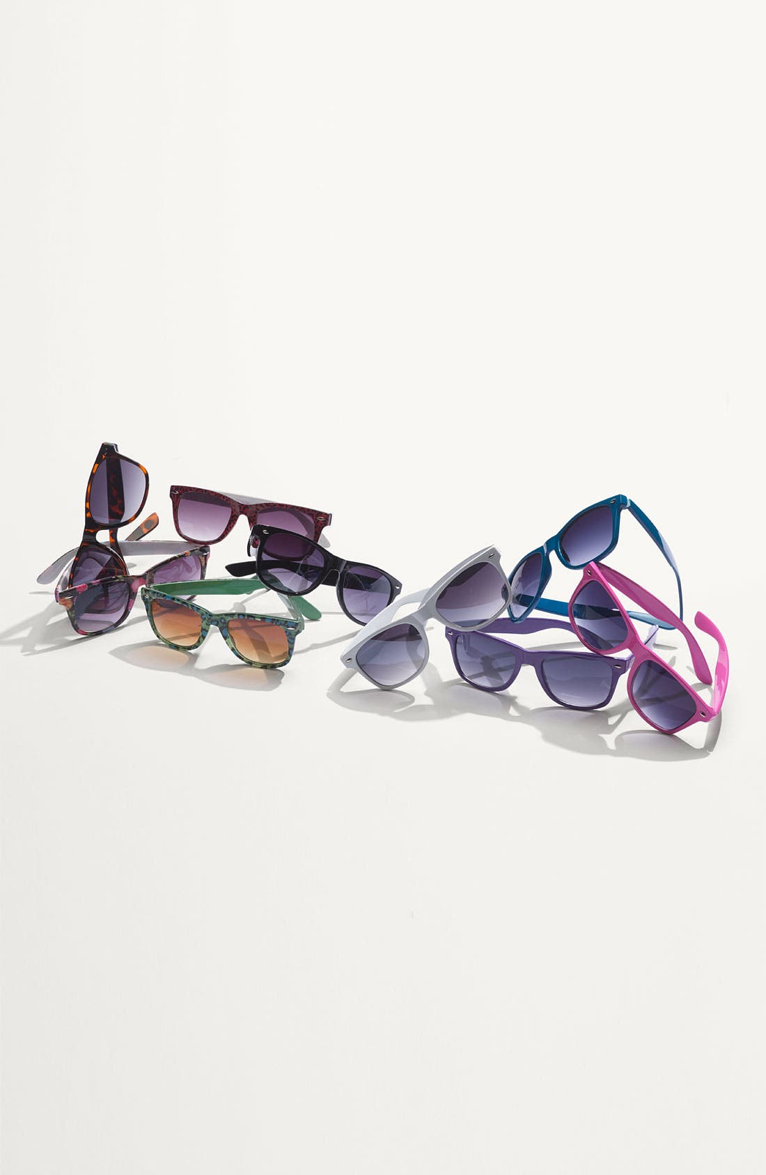 Alternate Image 2  - Icon Eyewear 'Maureen' Retro Sunglasses (Juniors)