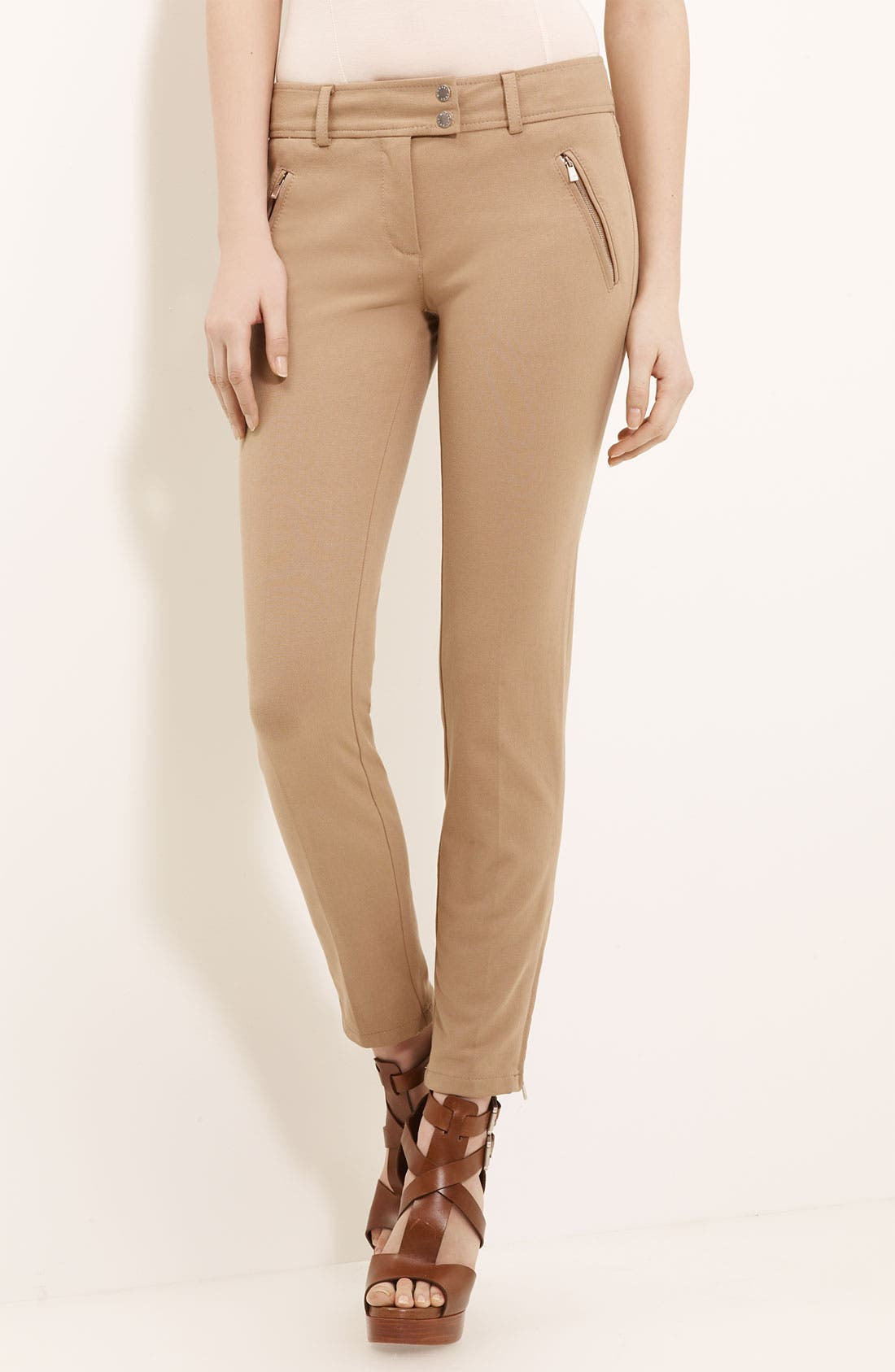 Alternate Image 1 Selected - Michael Kors Technical Gabardine Pants