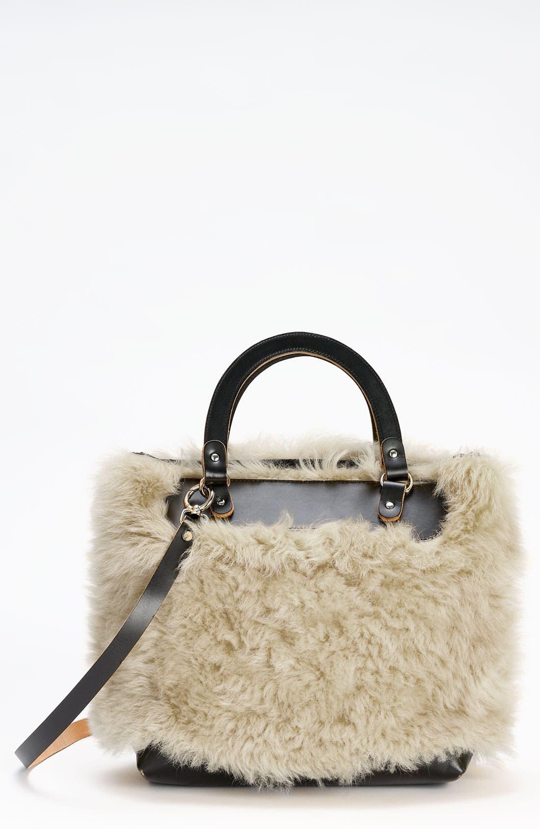Main Image - Marni Shearling Crossbody Bag