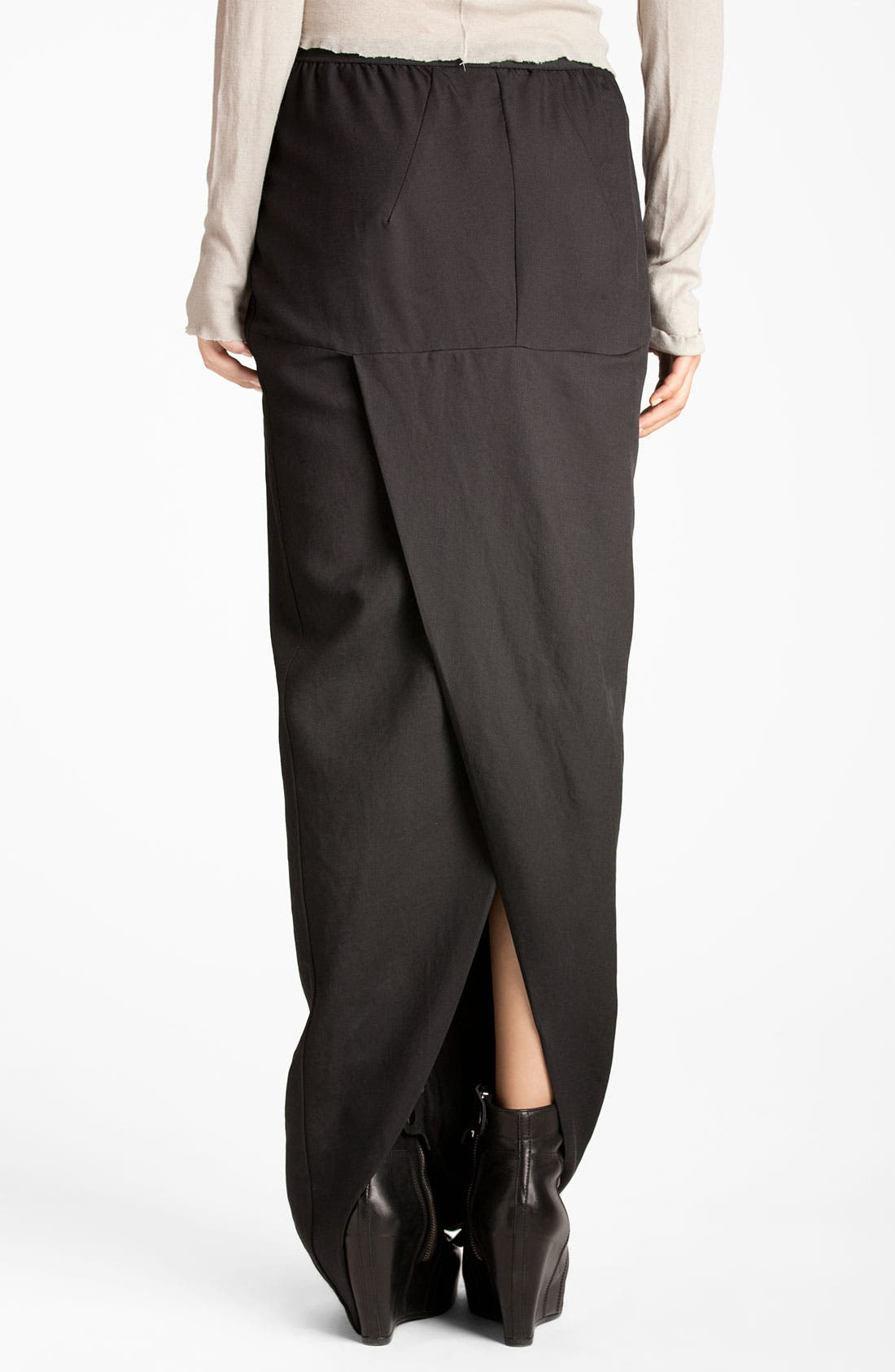 Alternate Image 2  - Rick Owens Slit Maxi Skirt