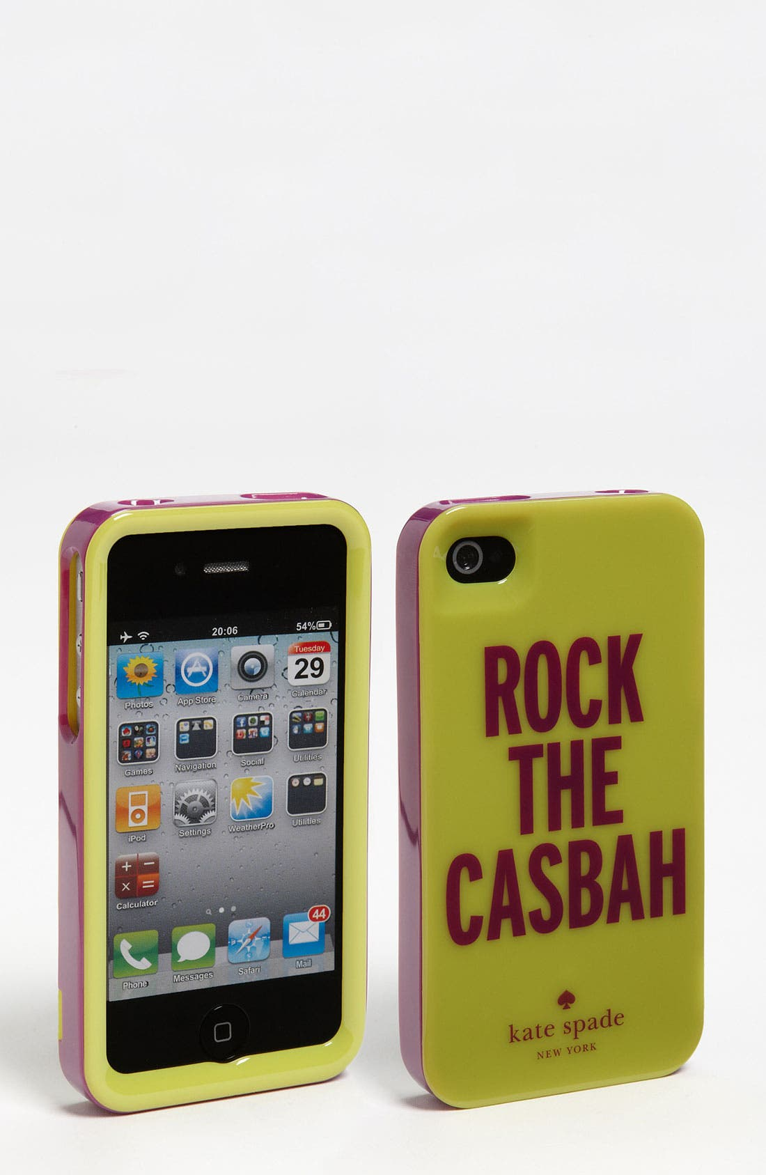 Alternate Image 1 Selected - kate spade new york 'rock the casbah' iPhone 4 & 4S case