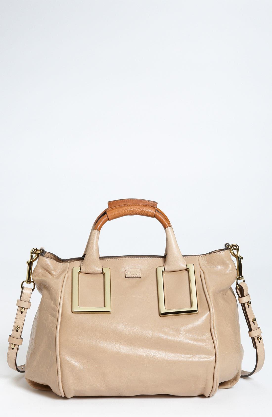 Alternate Image 1 Selected - Chloé 'Ethel - Medium' Leather Satchel