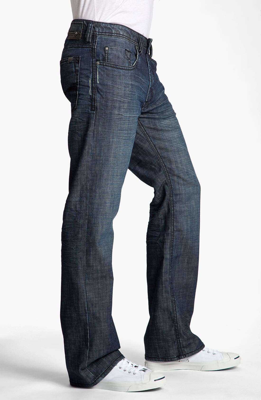 Alternate Image 3  - Buffalo Jeans 'Driven' Straight Leg Jeans (Vintage Stone)