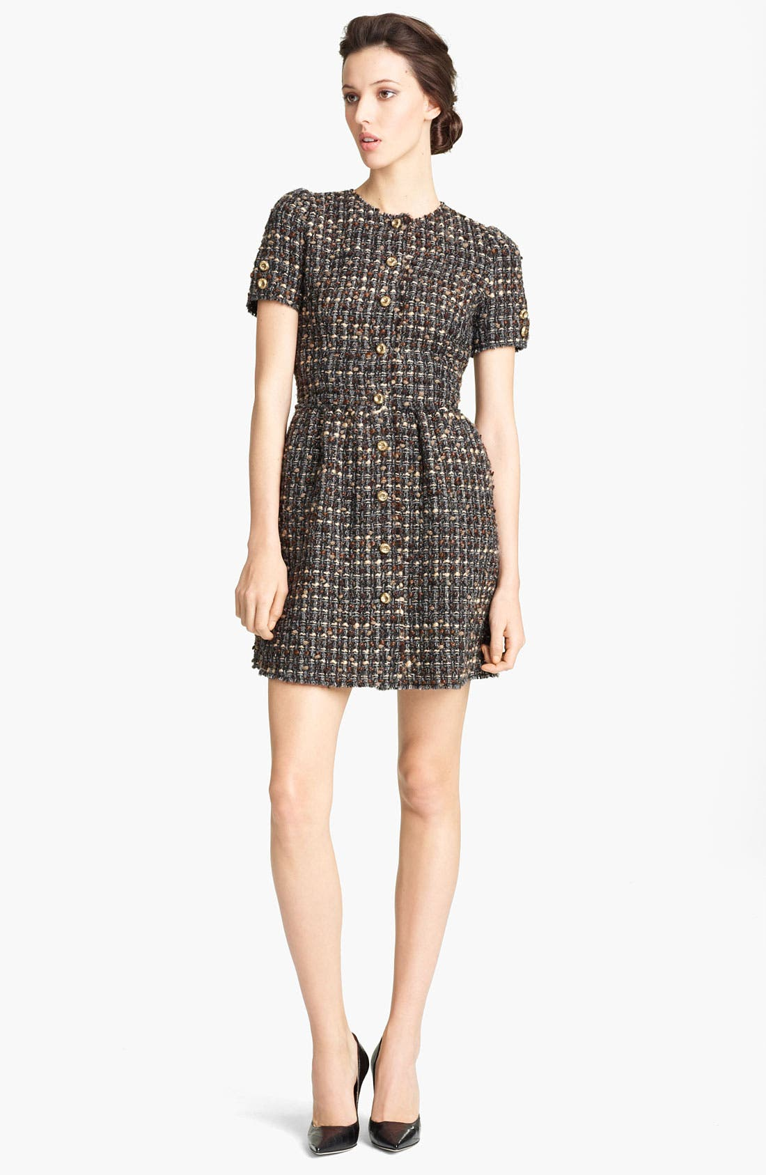 Alternate Image 1 Selected - Dolce&Gabbana Tweed Dress
