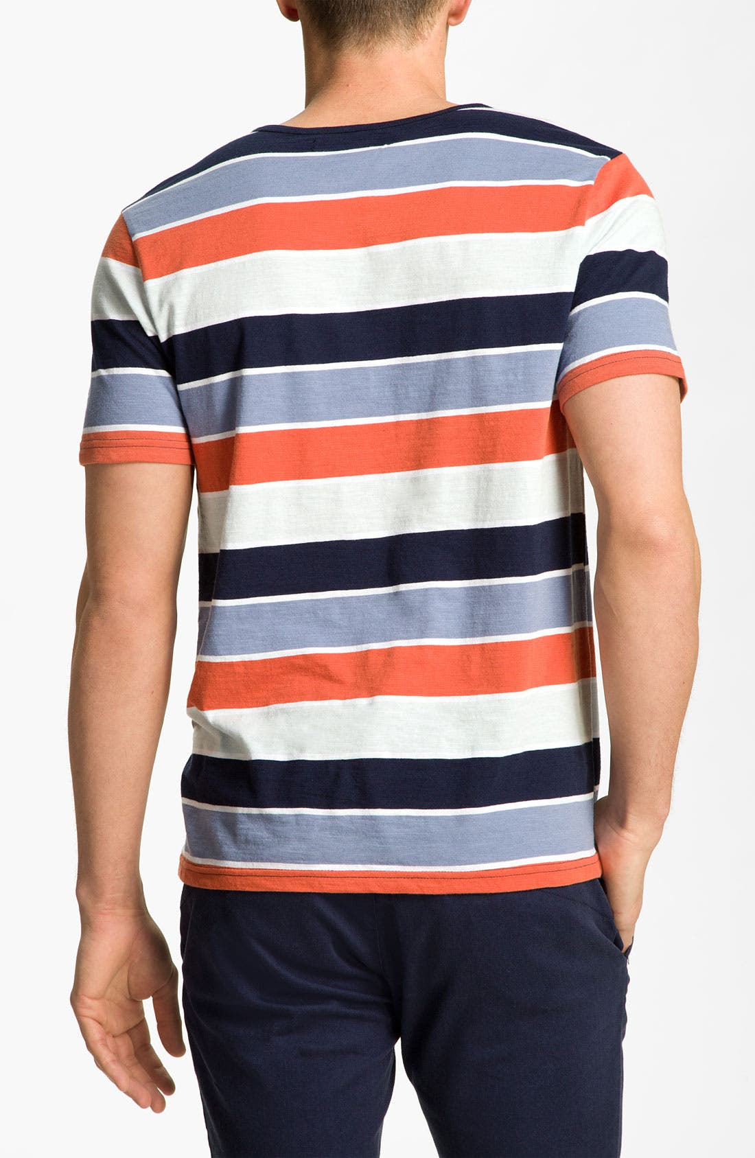 Alternate Image 2  - Volcom 'Lingo' Stripe Henley T-Shirt