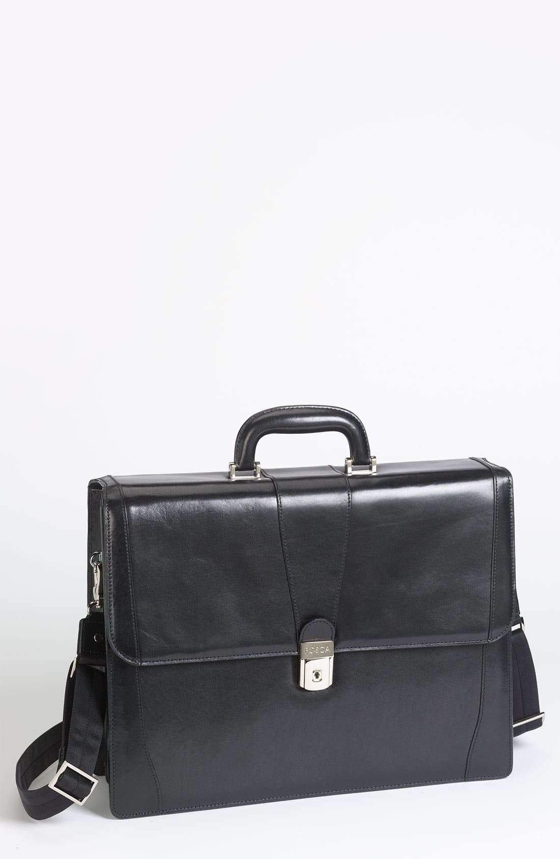 Alternate Image 1 Selected - Bosca Double Gusset Briefcase