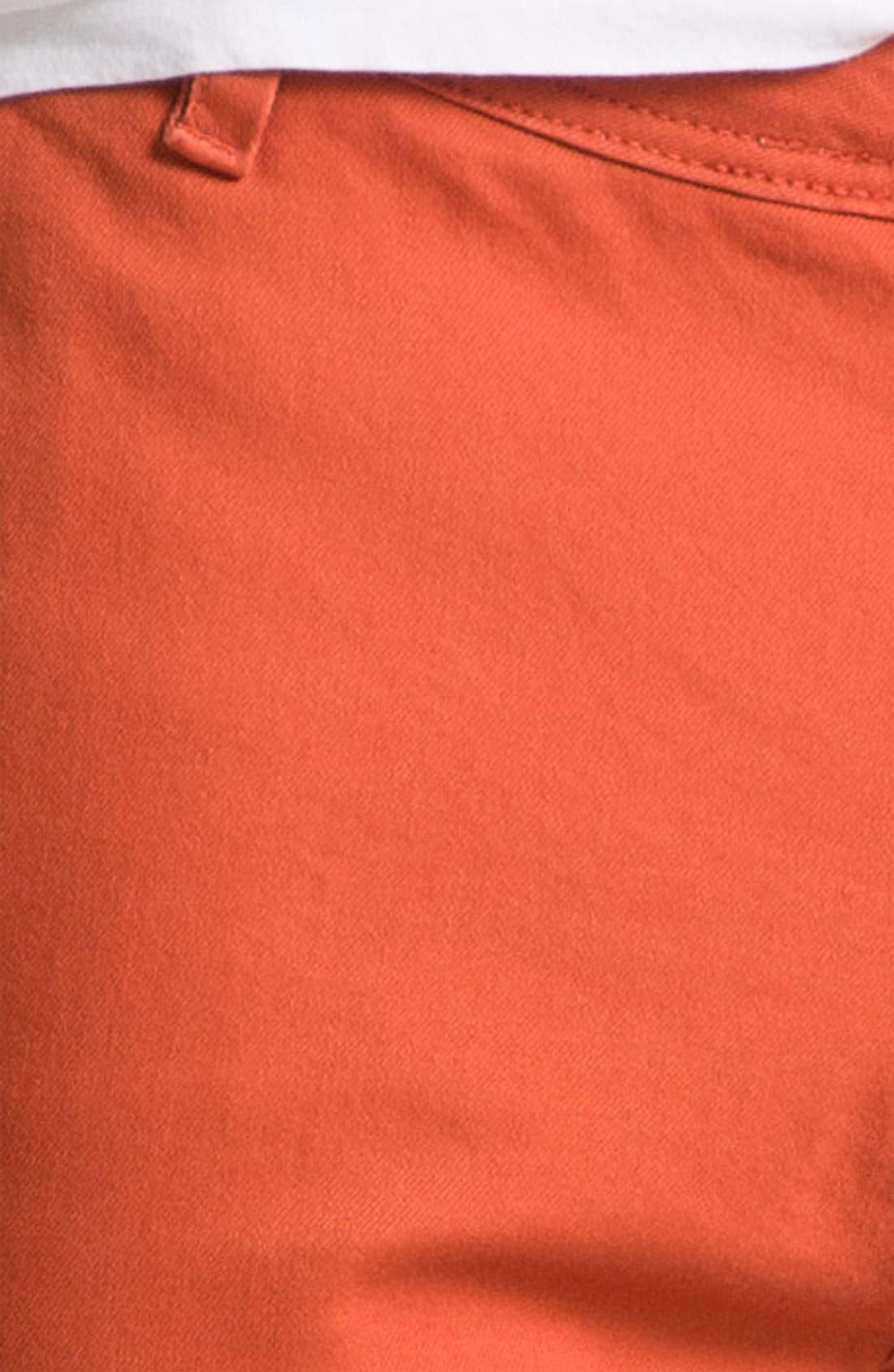 Alternate Image 3  - Volcom Cutoff Chino Shorts