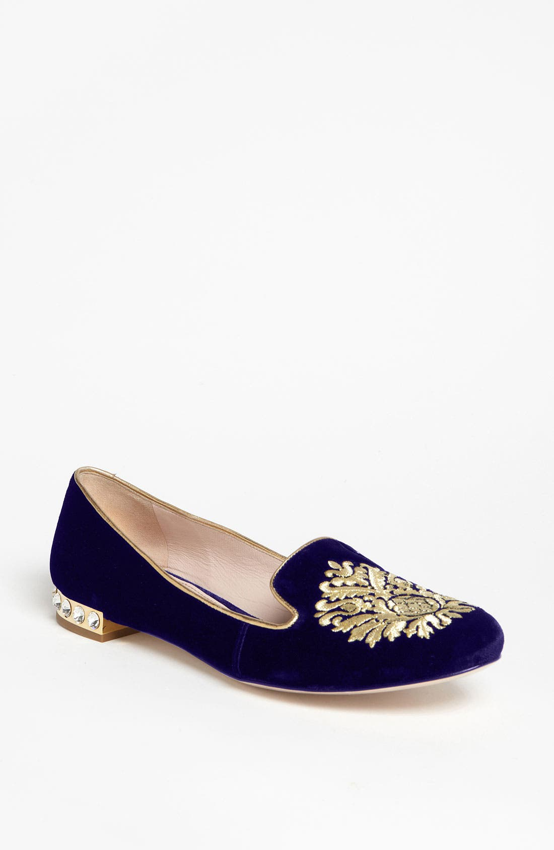 Alternate Image 1 Selected - Miu Miu 'Crest' Moccasin