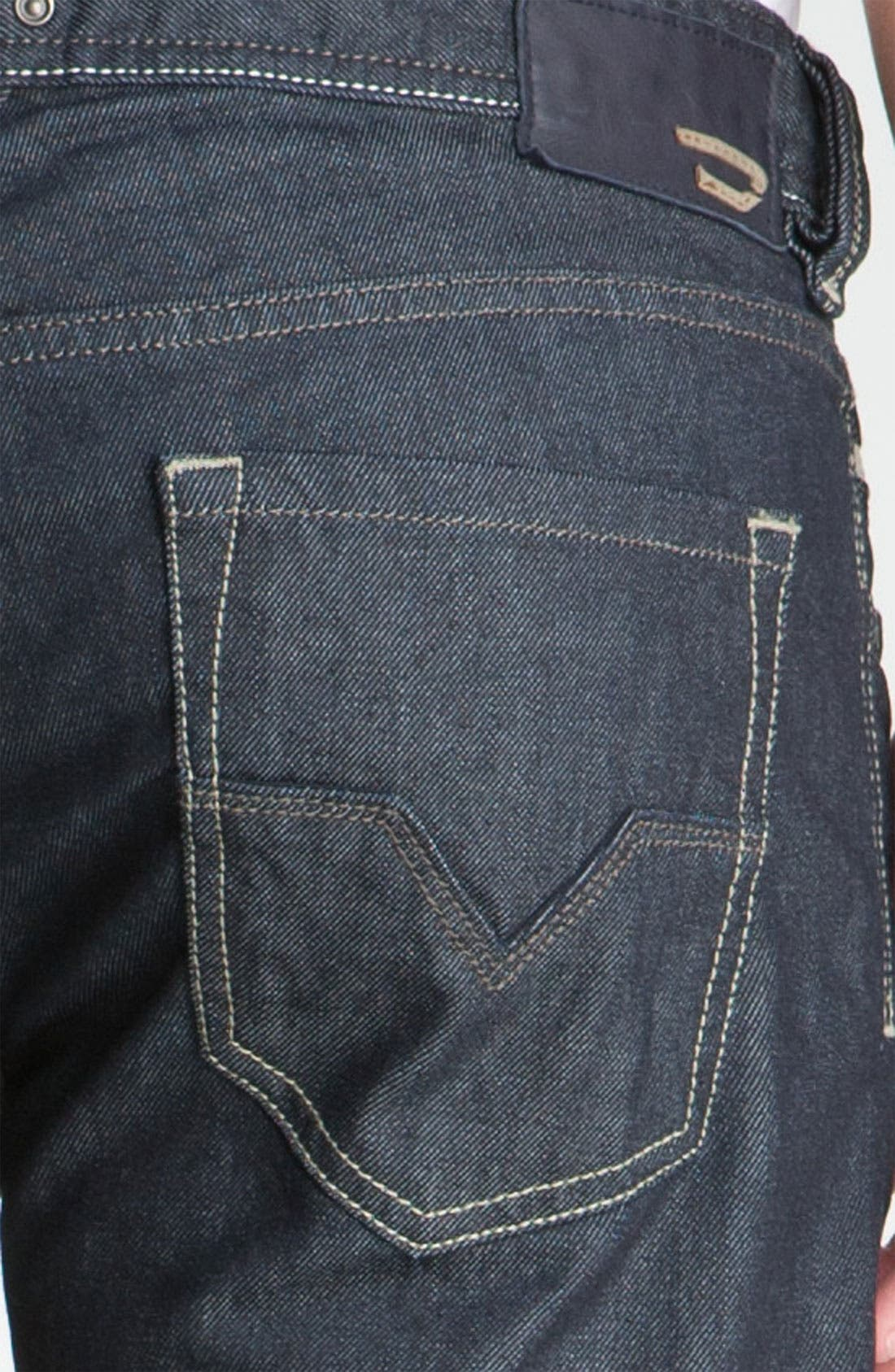 Alternate Image 4  - DIESEL® 'Larkee' Straight Leg Jeans (88Z)