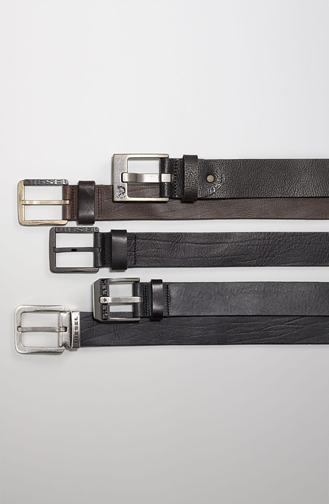 Alternate Image 2  - DIESEL® 'Bauser Service' Leather Belt