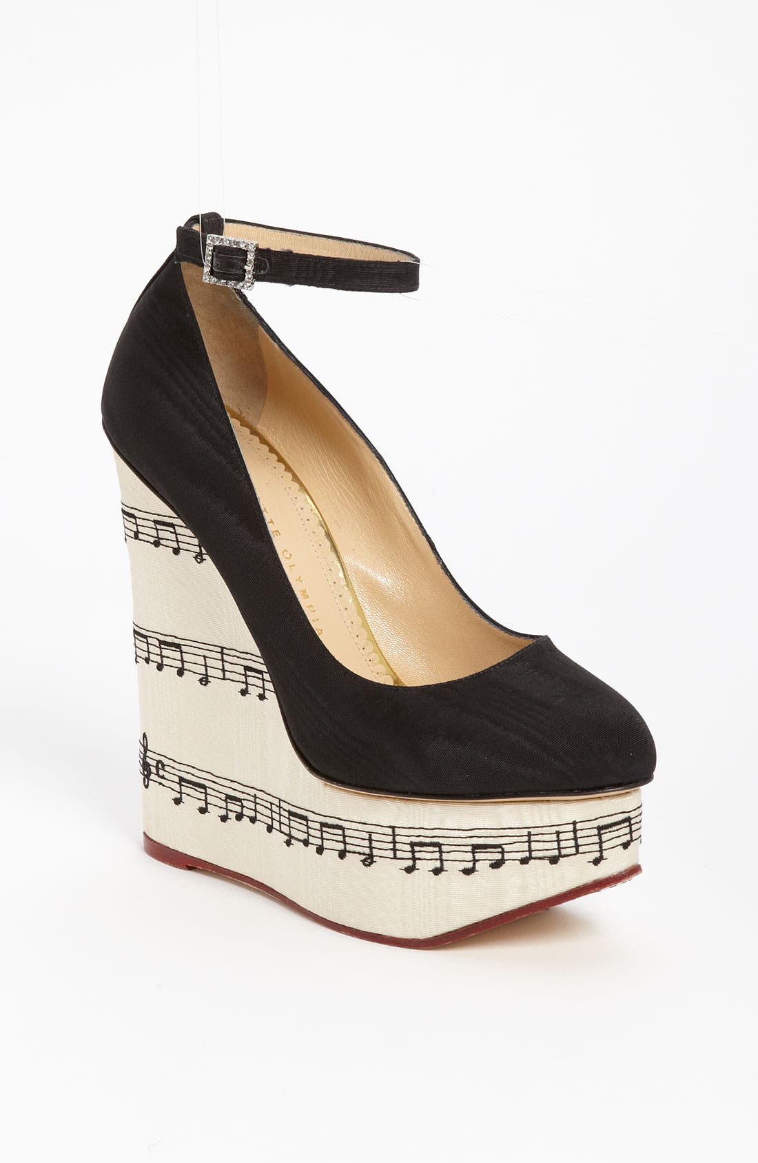 Alternate Image 1 Selected - Charlotte Olympia 'Music Note' Pump