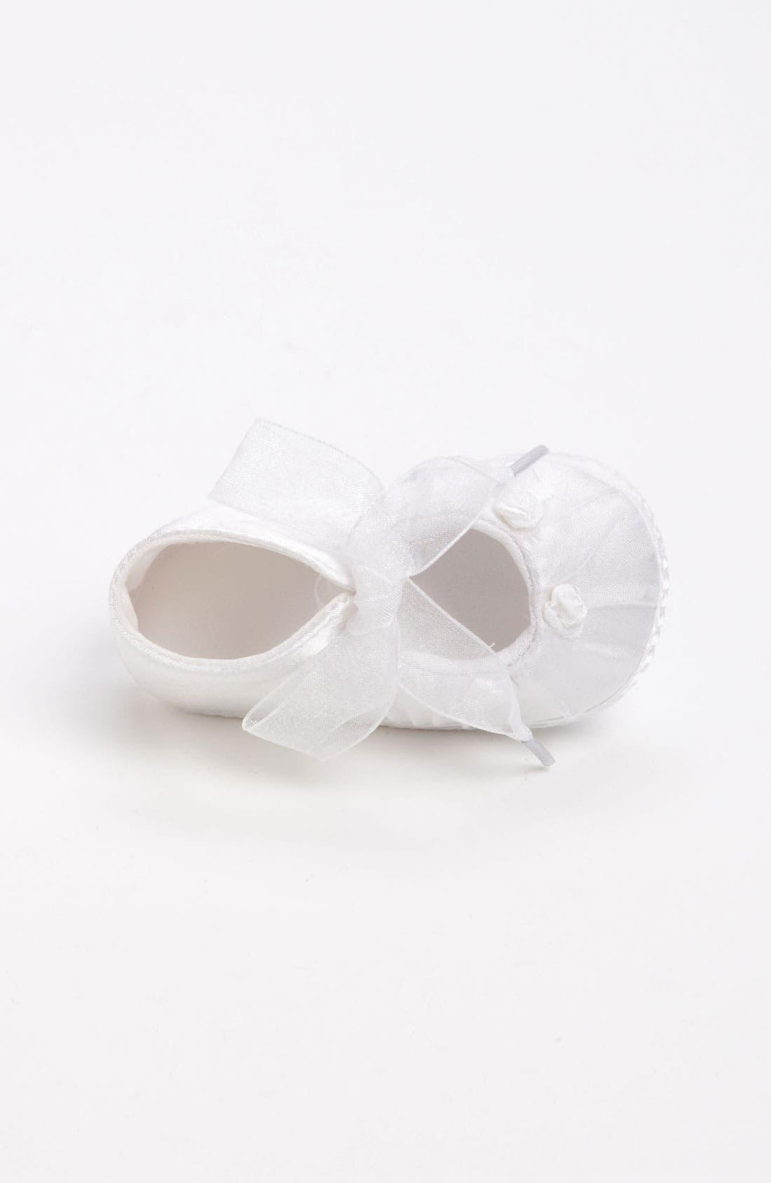 Alternate Image 3  - Designer's Touch 'Cheree' Crib Shoe (Baby)