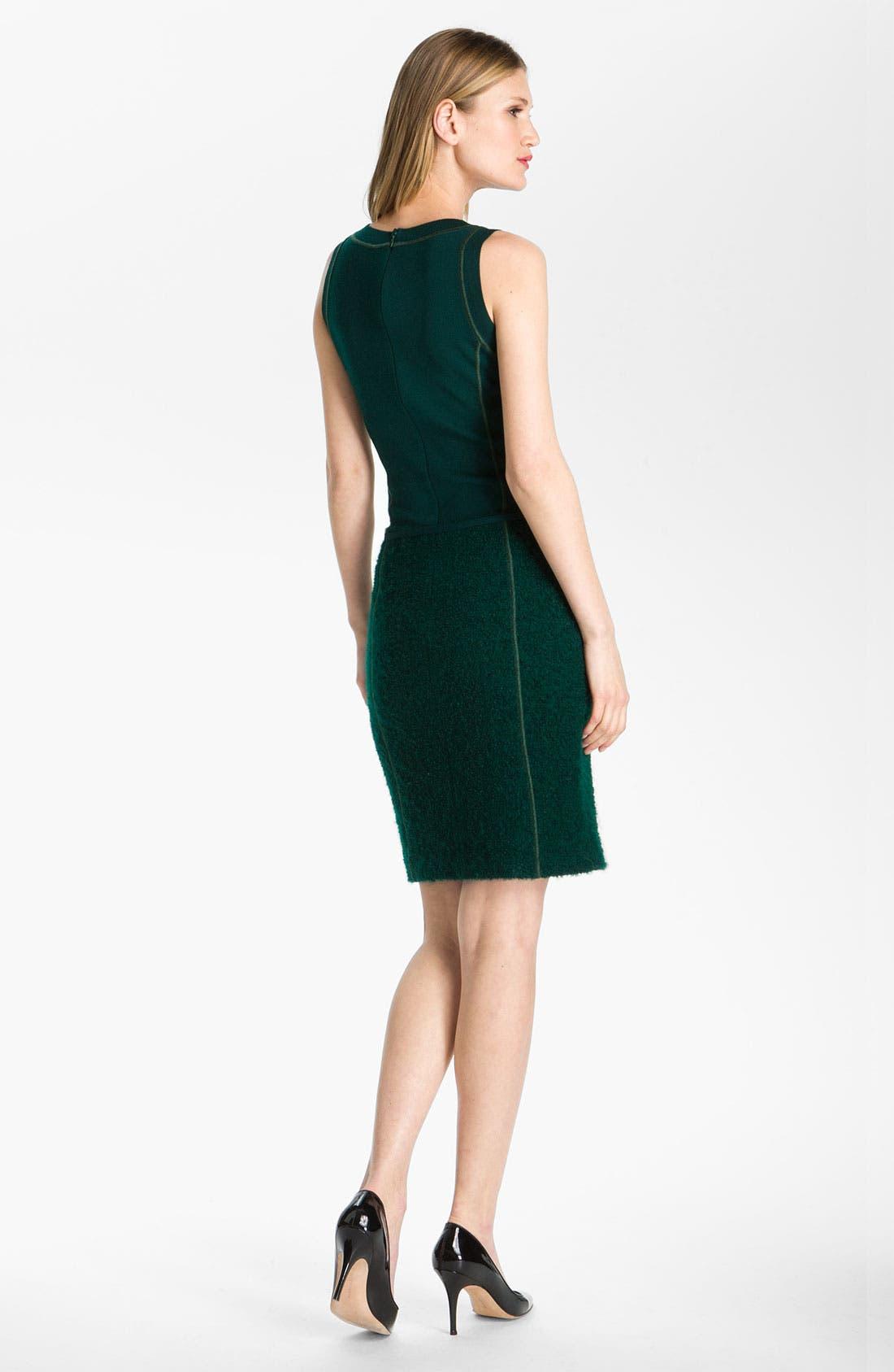 Alternate Image 3  - St. John Collection Milano Knit & Boucle Dress