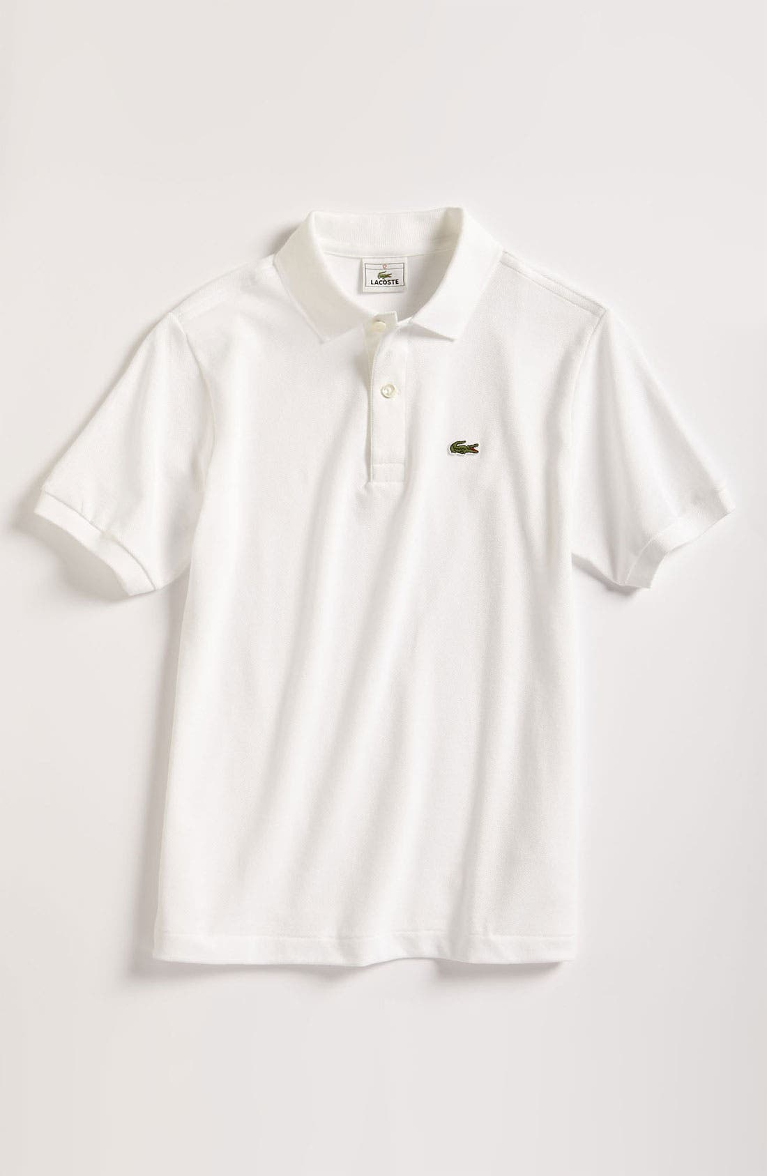 Lacoste Short Sleeve Piqué Polo (Toddler Boys, Little Boys & Big Boys)