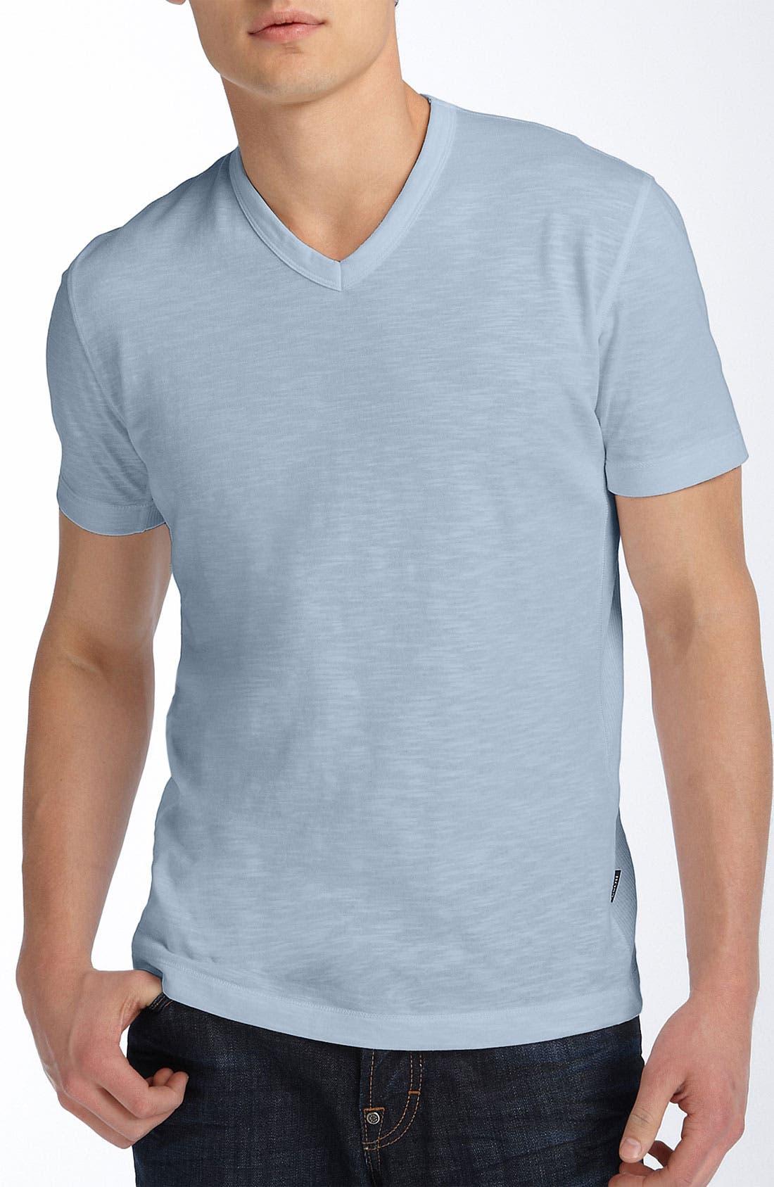Alternate Image 1 Selected - BOSS Black 'Eraldo' Slim Fit V-Neck T-Shirt