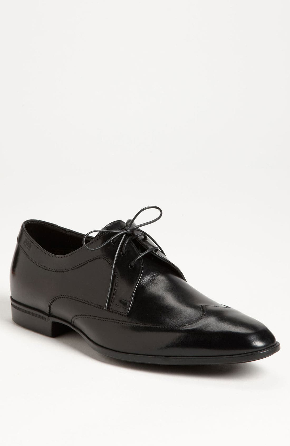 Alternate Image 1 Selected - BOSS Black 'Neswin' Wingtip Derby