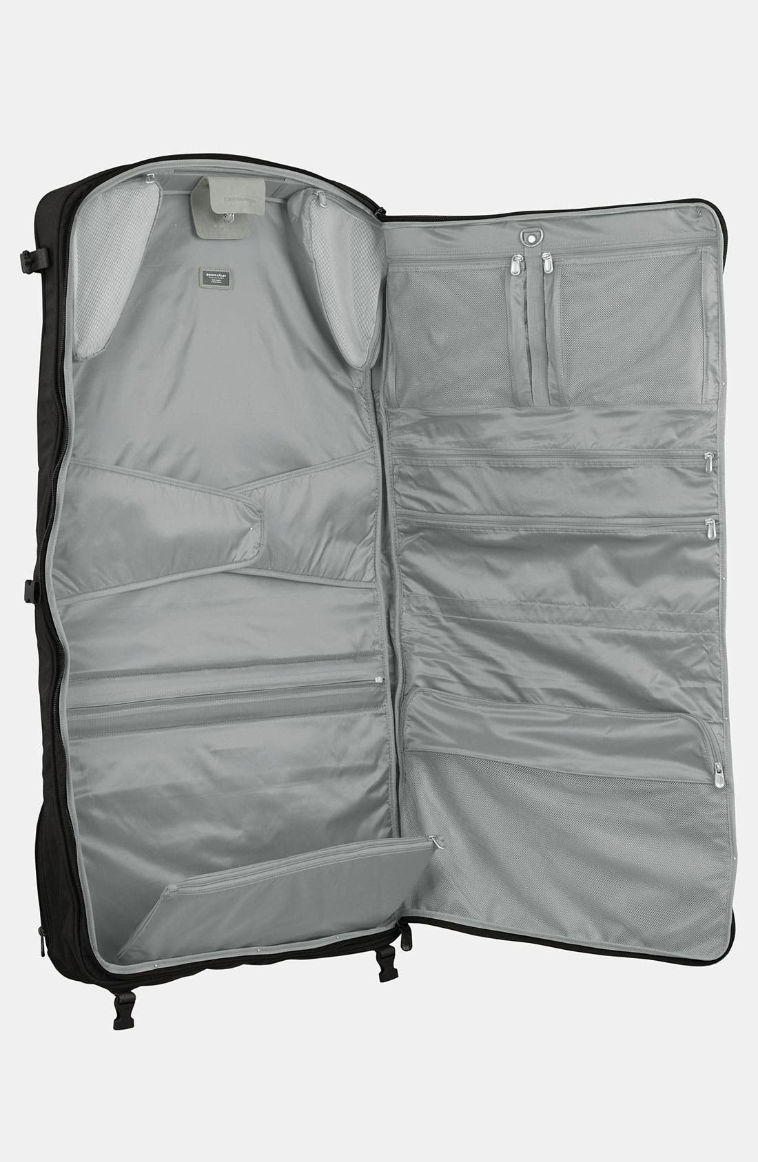 Baseline - Compact Garment Bag,                             Alternate thumbnail 2, color,                             Black